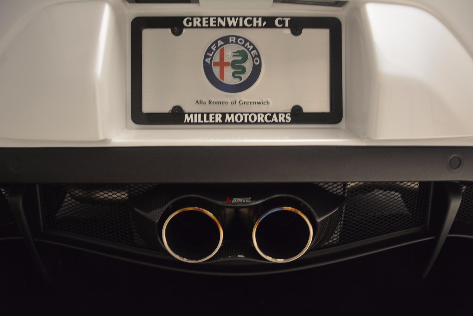 New 2018 Alfa Romeo 4C Coupe For Sale In Greenwich, CT. Alfa Romeo of Greenwich, L244 1633_p22