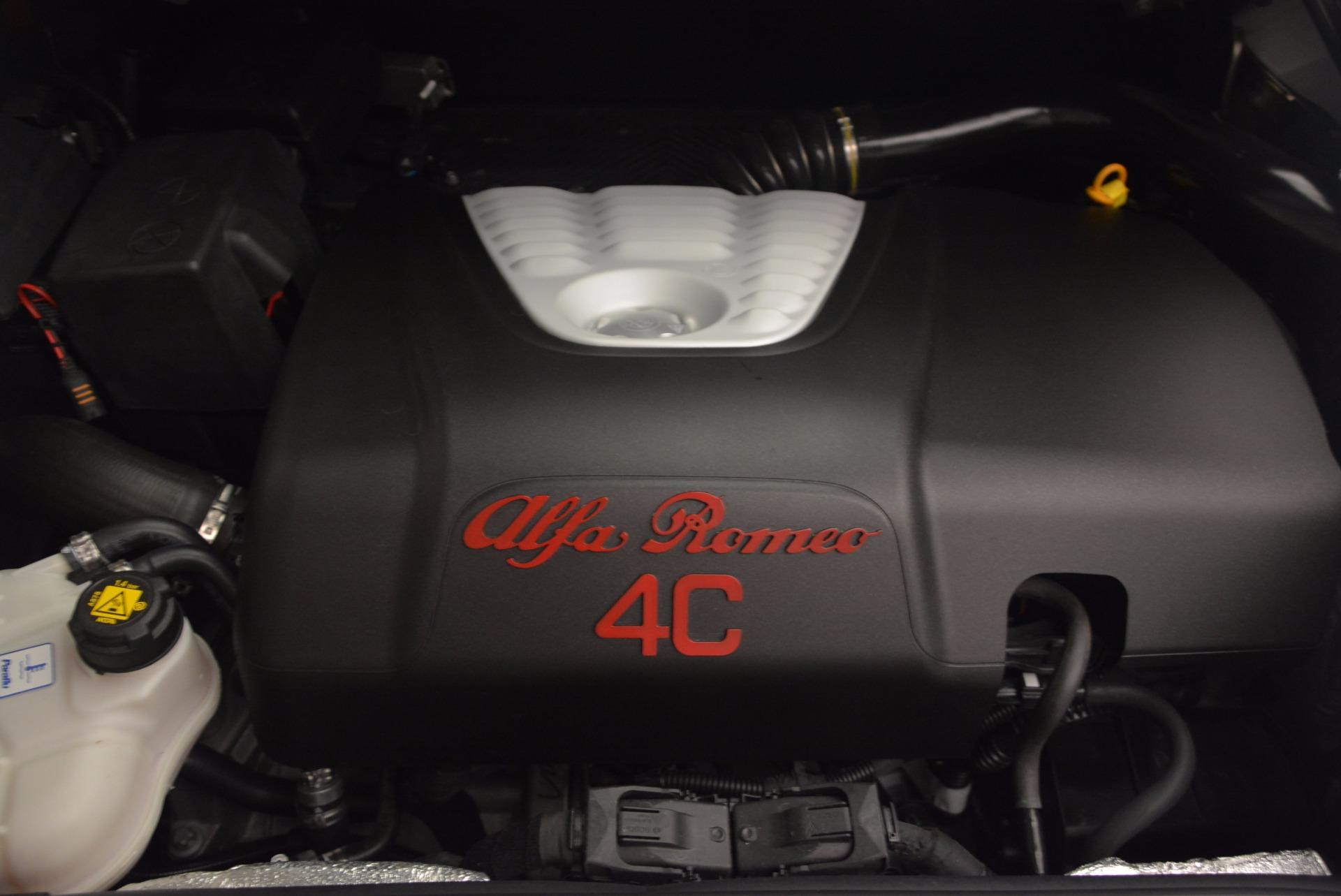 New 2018 Alfa Romeo 4C Coupe For Sale In Greenwich, CT. Alfa Romeo of Greenwich, L244 1633_p23