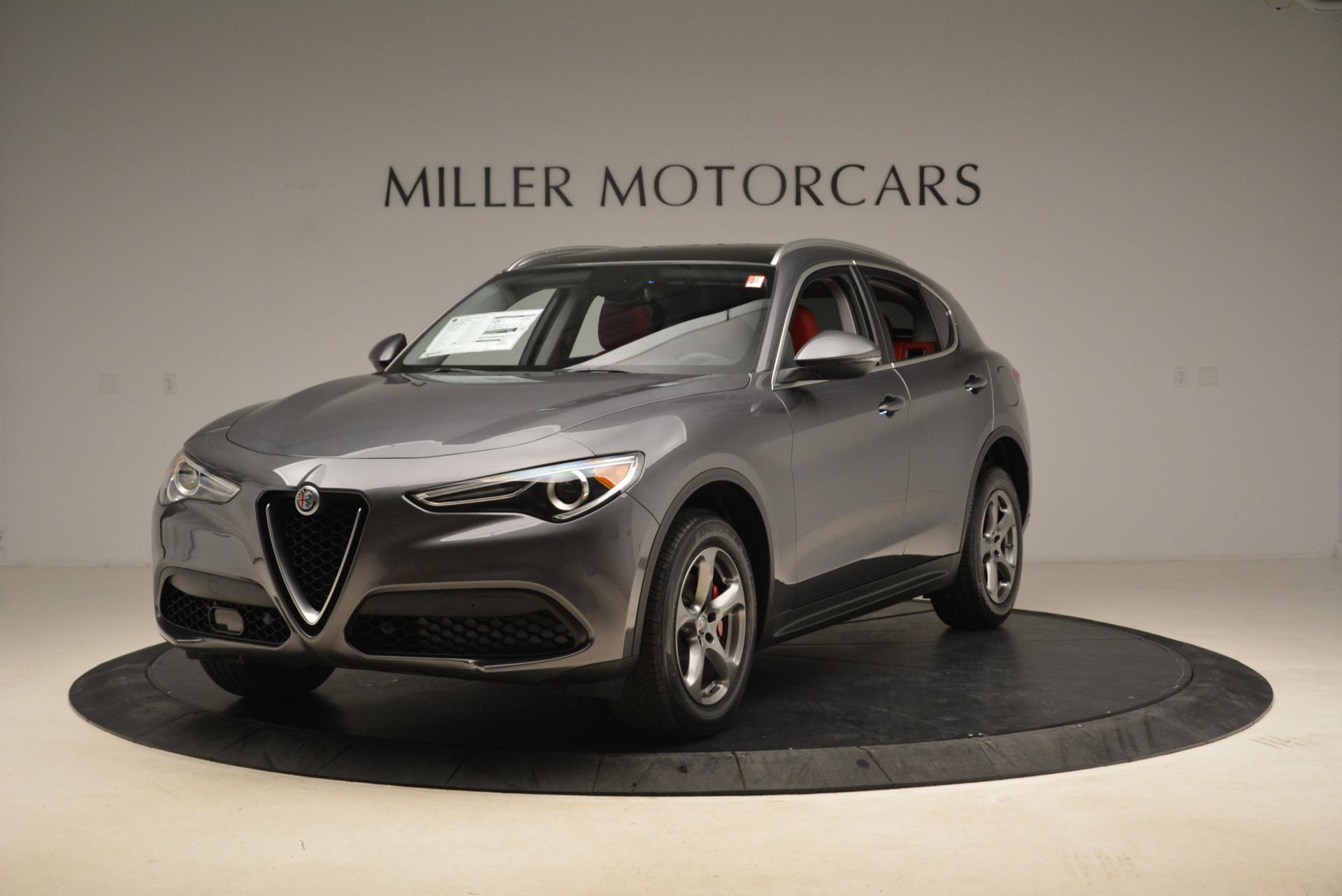 New 2018 Alfa Romeo Stelvio Q4 For Sale In Greenwich, CT. Alfa Romeo of Greenwich, L246 1637_main