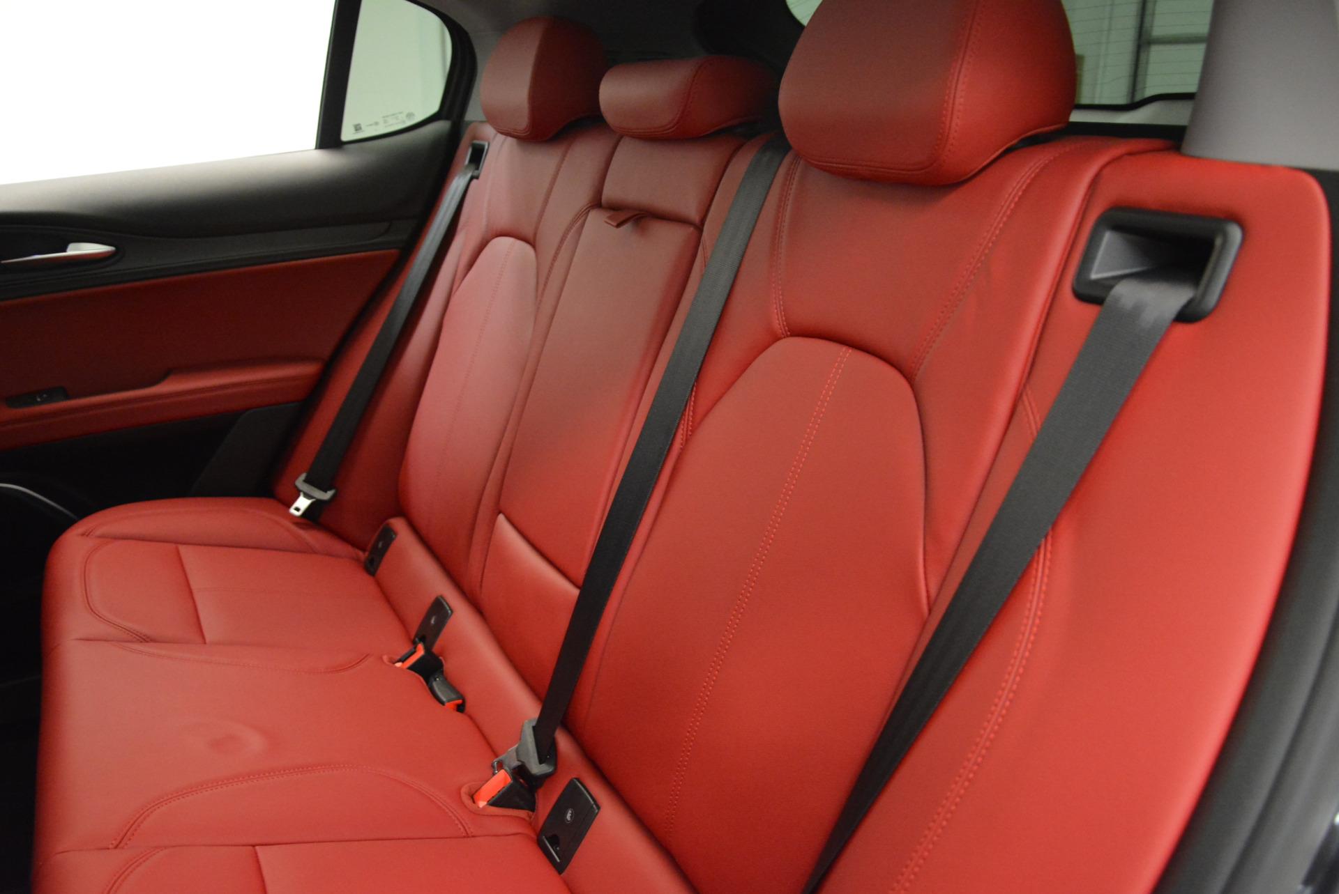 New 2018 Alfa Romeo Stelvio Q4 For Sale In Greenwich, CT. Alfa Romeo of Greenwich, L246 1637_p24