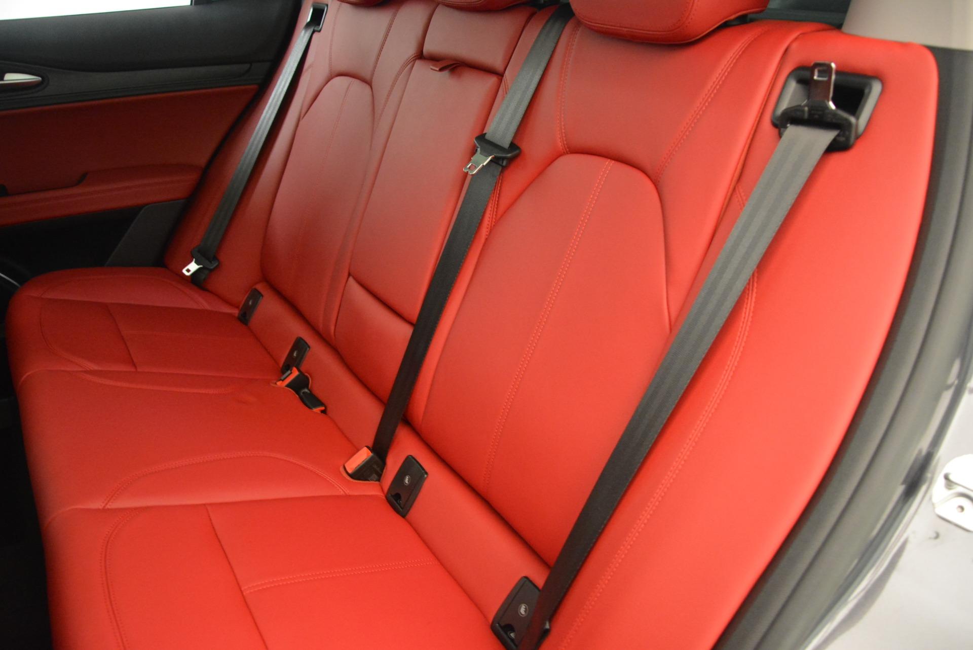 New 2018 Alfa Romeo Stelvio Q4 For Sale In Greenwich, CT. Alfa Romeo of Greenwich, L248 1639_p18