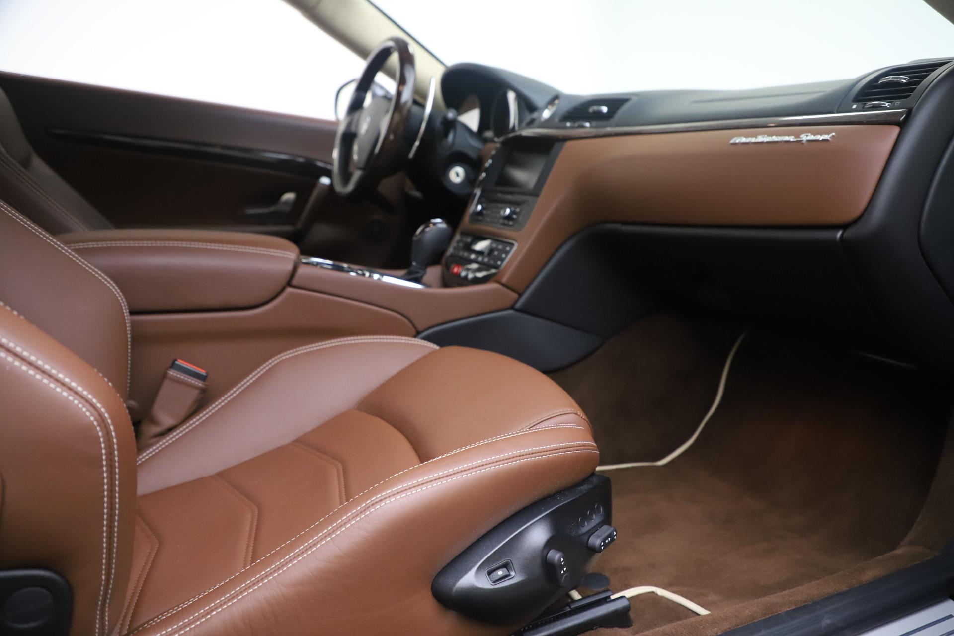 New 2016 Maserati GranTurismo Sport For Sale In Greenwich, CT. Alfa Romeo of Greenwich, M1512 164_p20