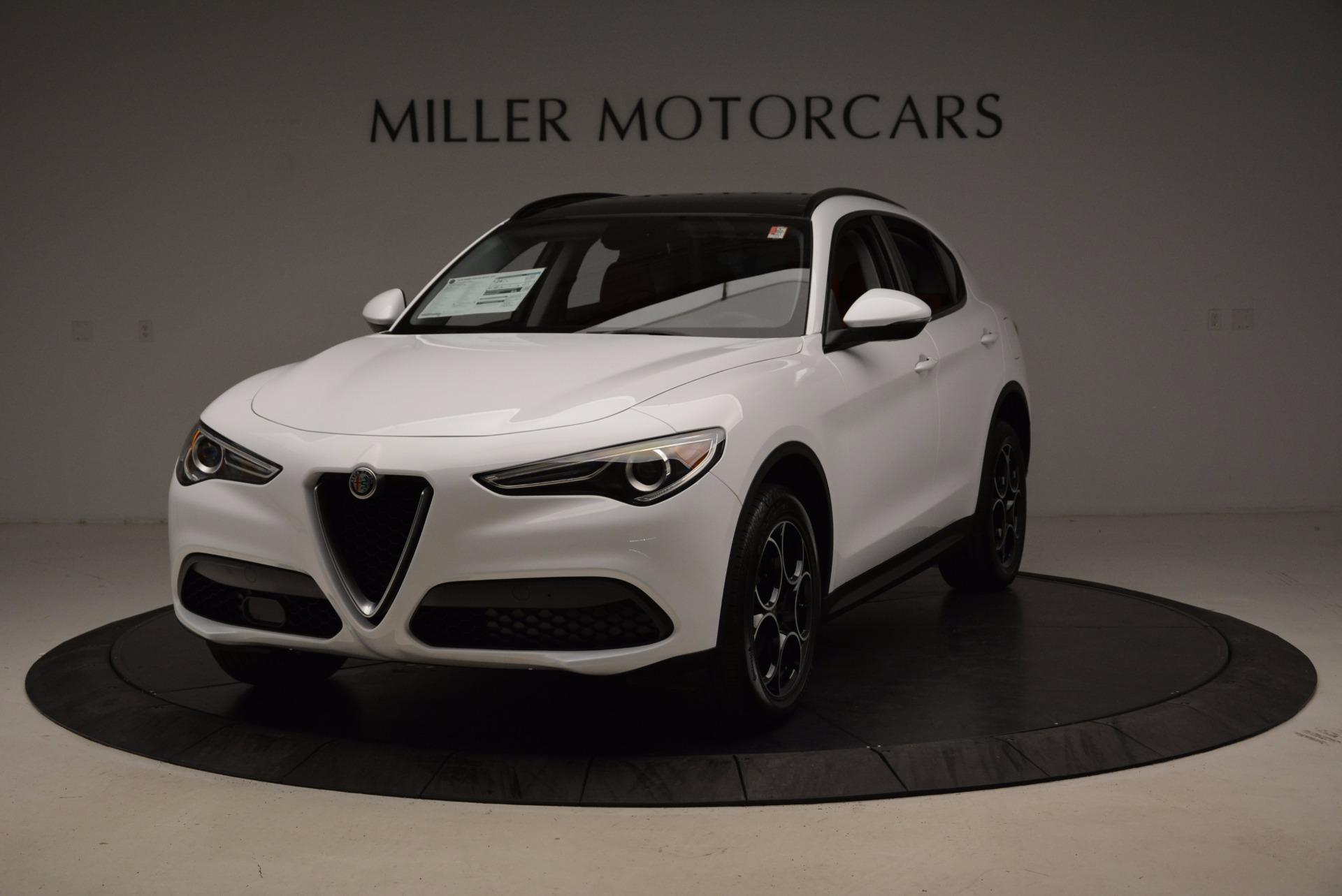 New 2018 Alfa Romeo Stelvio Sport Q4 For Sale In Greenwich, CT. Alfa Romeo of Greenwich, LW057 1642_main