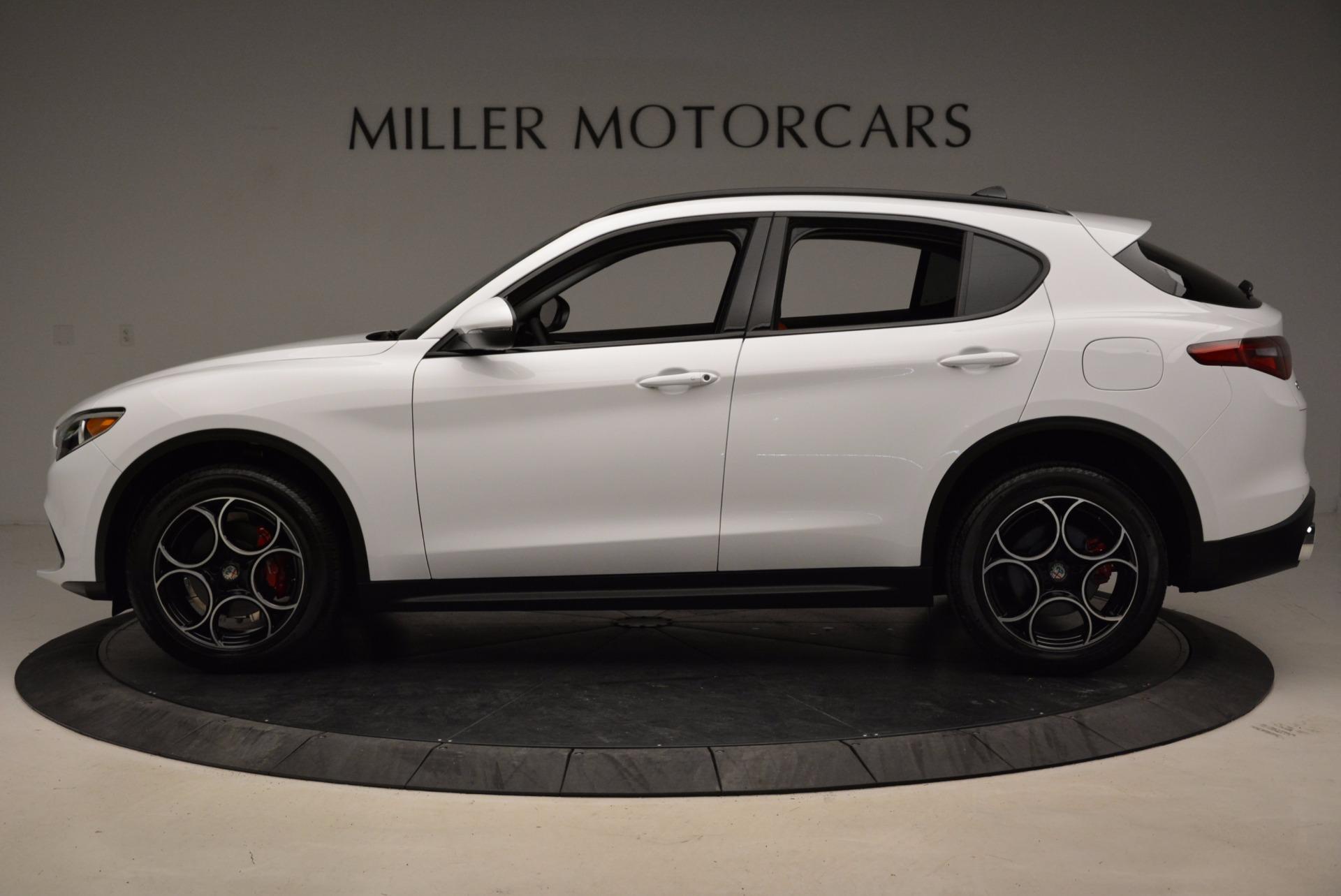 New 2018 Alfa Romeo Stelvio Sport Q4 For Sale In Greenwich, CT. Alfa Romeo of Greenwich, LW057 1642_p3