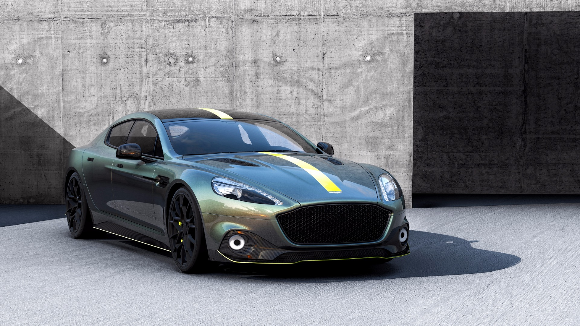 New 2019 Aston Martin Rapide AMR Shadow Edition For Sale In Greenwich, CT. Alfa Romeo of Greenwich, PLEASE CALL FOR DETAILS 1647_p2