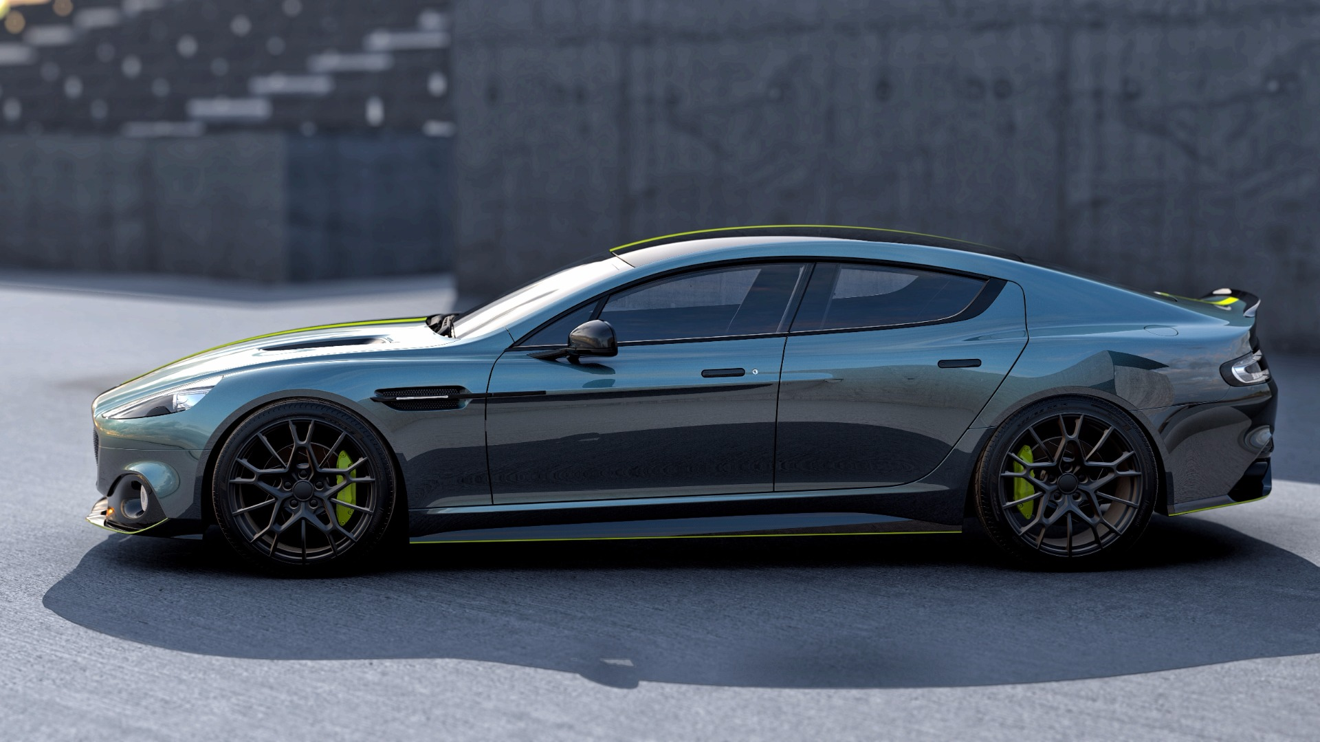 New 2019 Aston Martin Rapide AMR Shadow Edition For Sale In Greenwich, CT. Alfa Romeo of Greenwich, PLEASE CALL FOR DETAILS 1647_p3