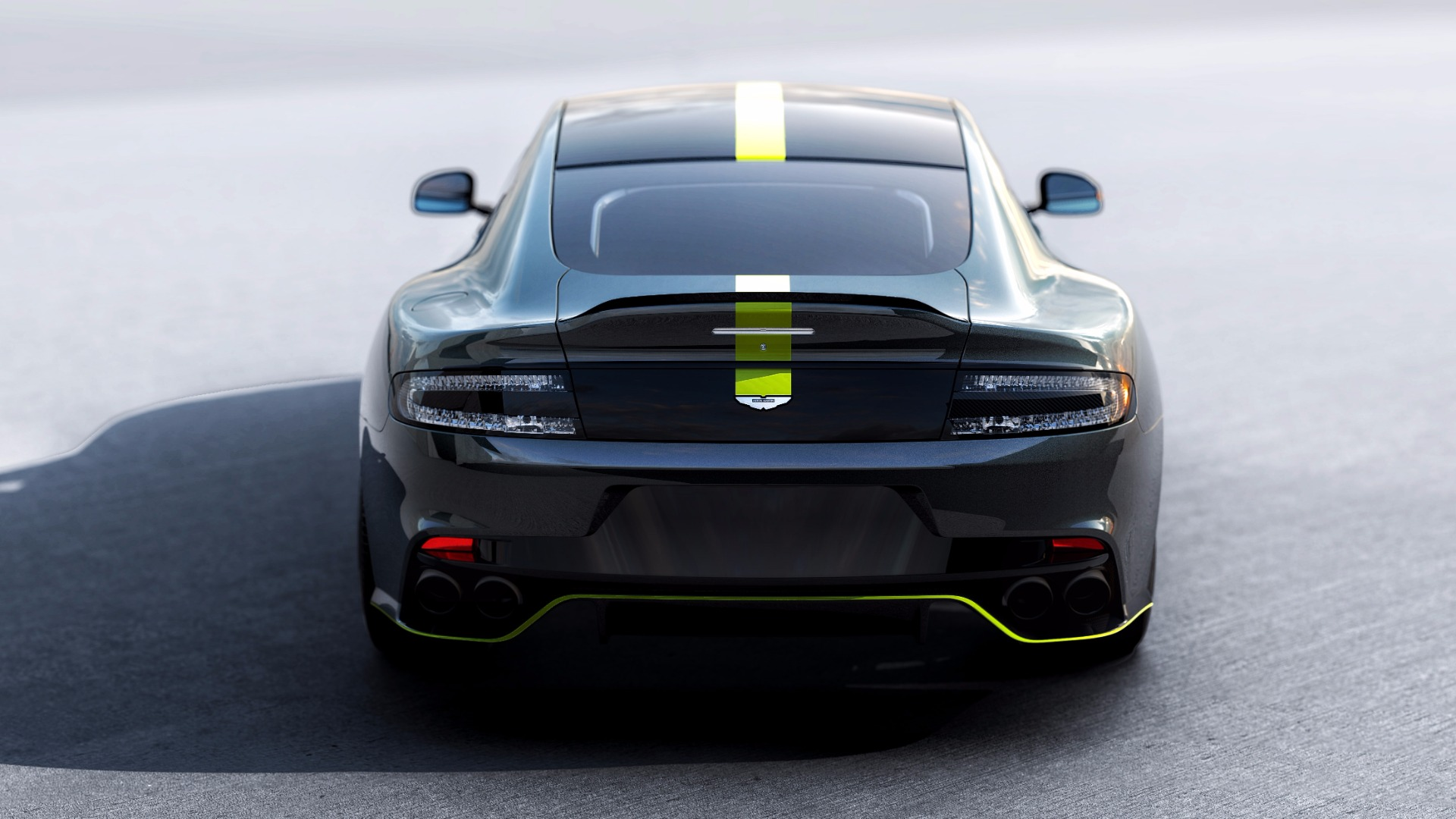 New 2019 Aston Martin Rapide AMR Shadow Edition For Sale In Greenwich, CT. Alfa Romeo of Greenwich, PLEASE CALL FOR DETAILS 1647_p4