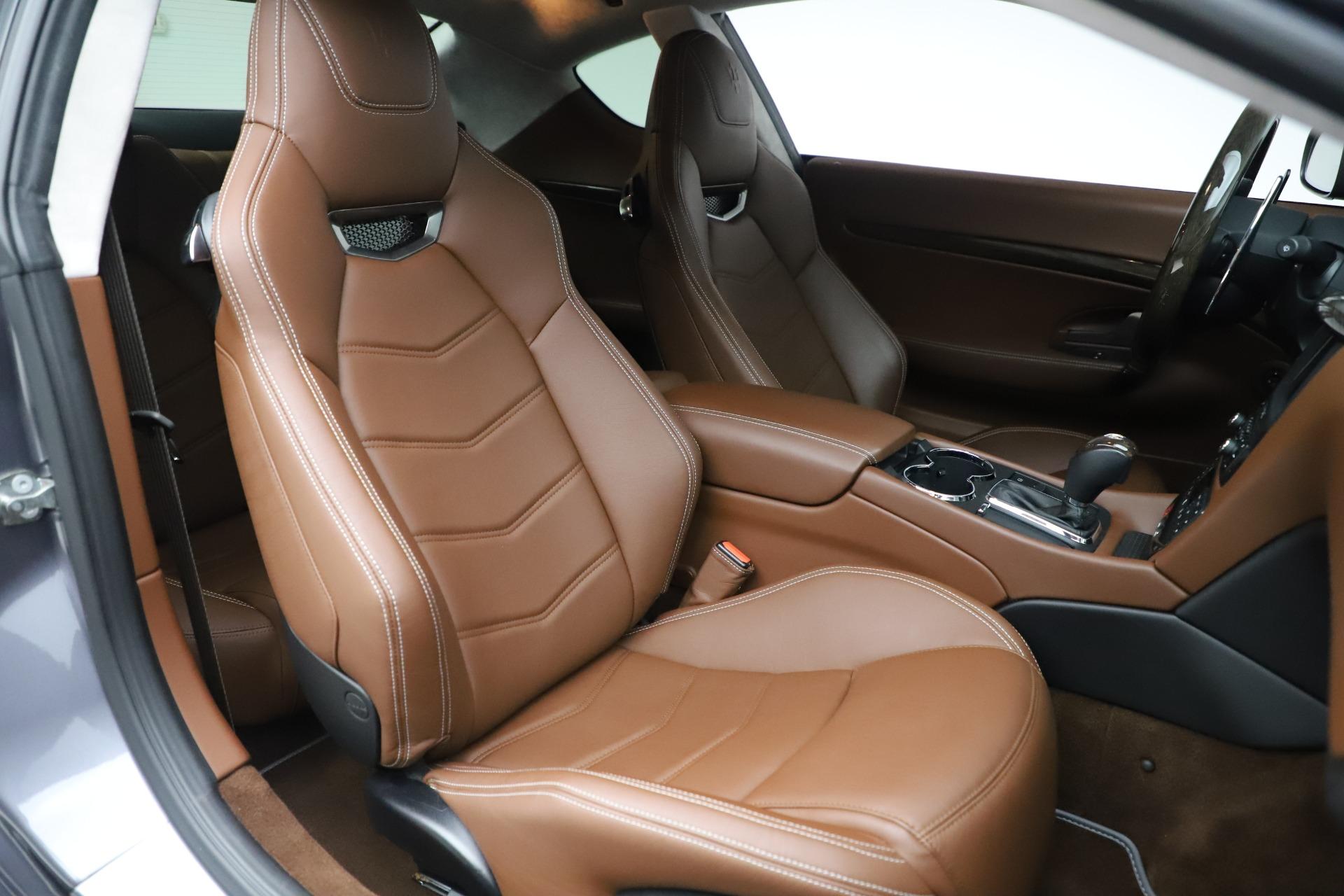 Used 2016 Maserati GranTurismo Sport For Sale In Greenwich, CT. Alfa Romeo of Greenwich, 7662C 166_p20