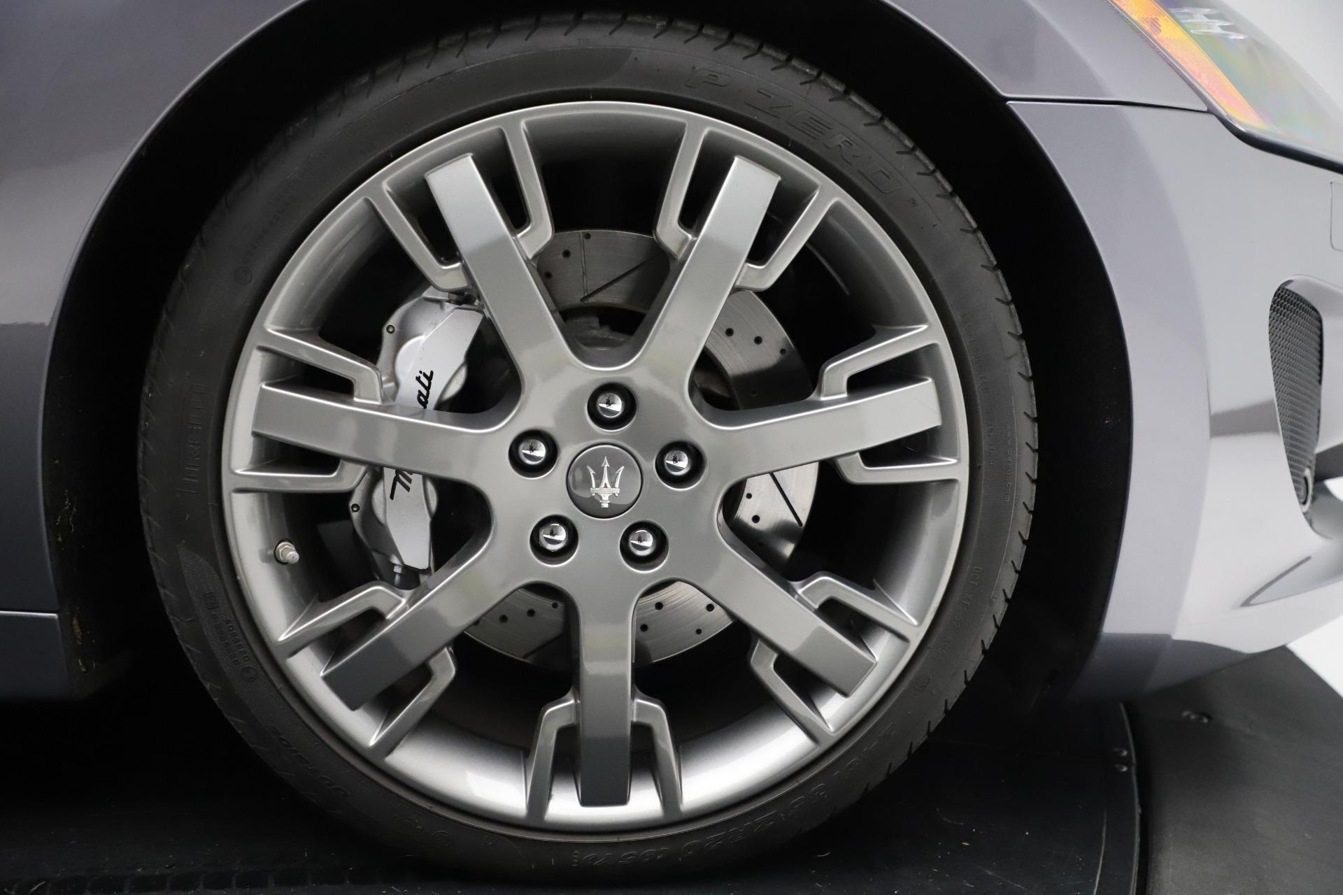 Used 2016 Maserati GranTurismo Sport For Sale In Greenwich, CT. Alfa Romeo of Greenwich, 7662C 166_p23