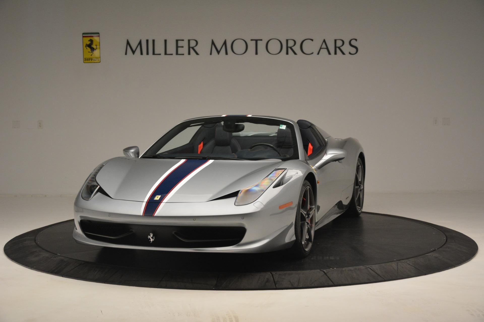 Used 2015 Ferrari 458 Spider  For Sale In Greenwich, CT. Alfa Romeo of Greenwich, 4574 1667_main