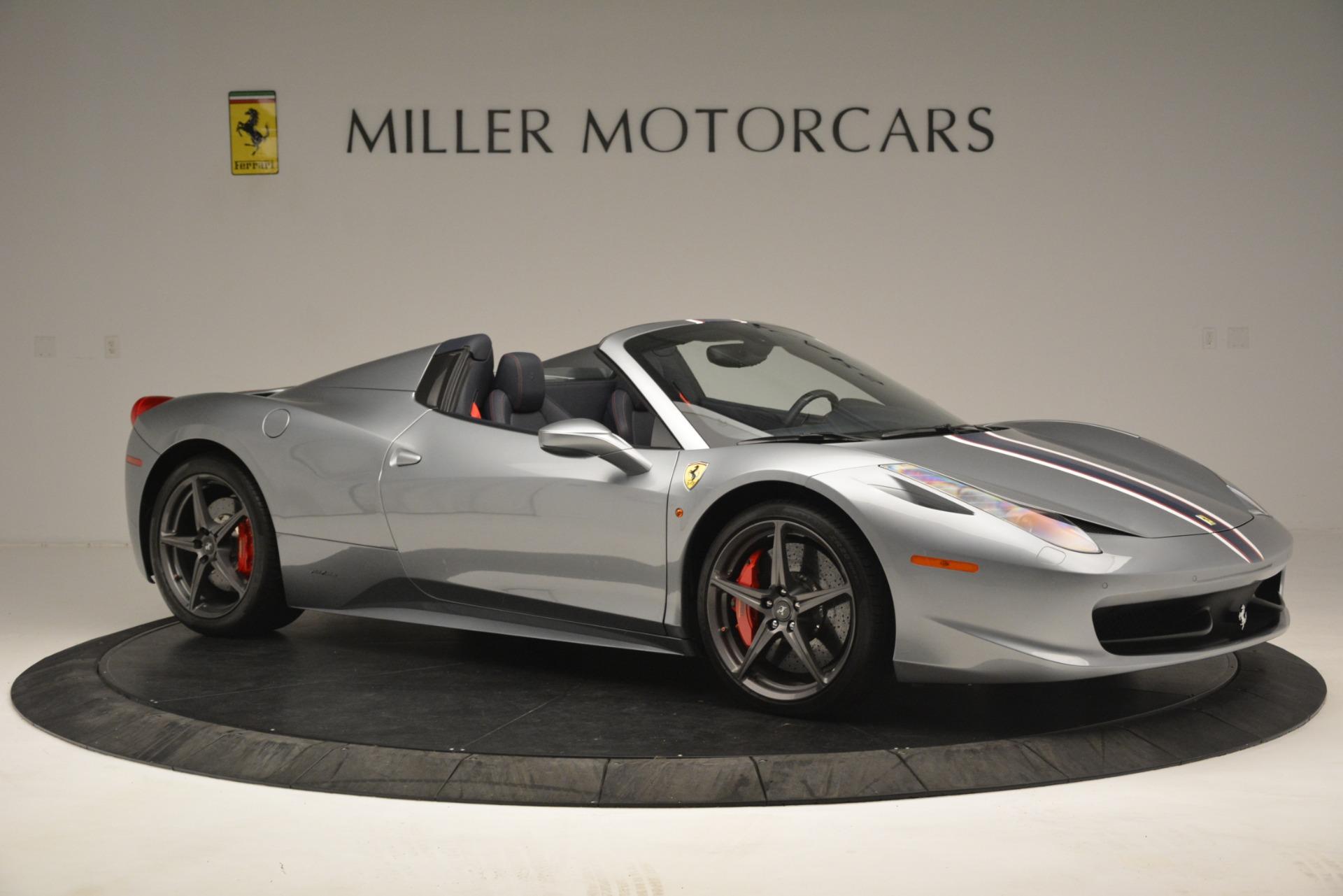 Used 2015 Ferrari 458 Spider  For Sale In Greenwich, CT. Alfa Romeo of Greenwich, 4574 1667_p10