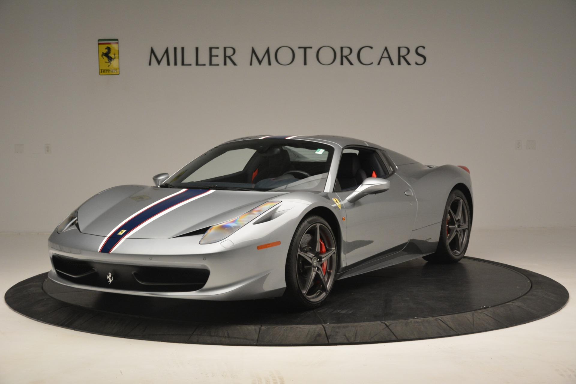 Used 2015 Ferrari 458 Spider  For Sale In Greenwich, CT. Alfa Romeo of Greenwich, 4574 1667_p13