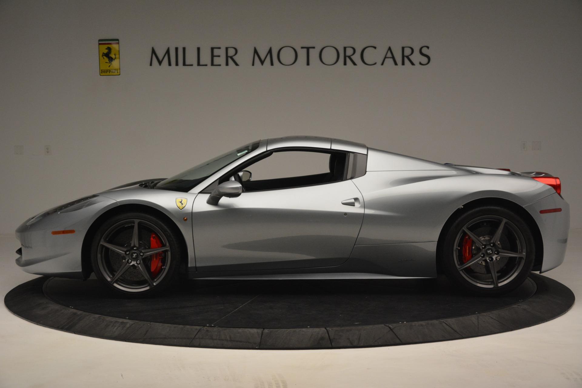 Used 2015 Ferrari 458 Spider  For Sale In Greenwich, CT. Alfa Romeo of Greenwich, 4574 1667_p14