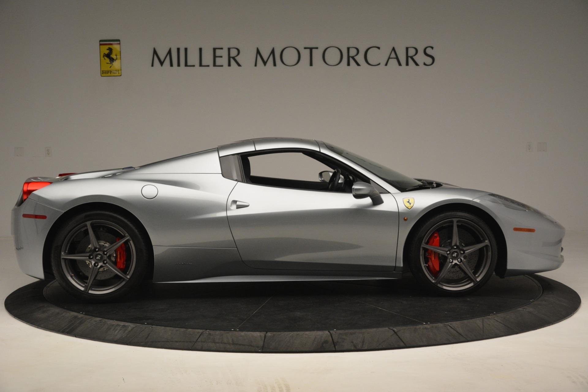 Used 2015 Ferrari 458 Spider  For Sale In Greenwich, CT. Alfa Romeo of Greenwich, 4574 1667_p17