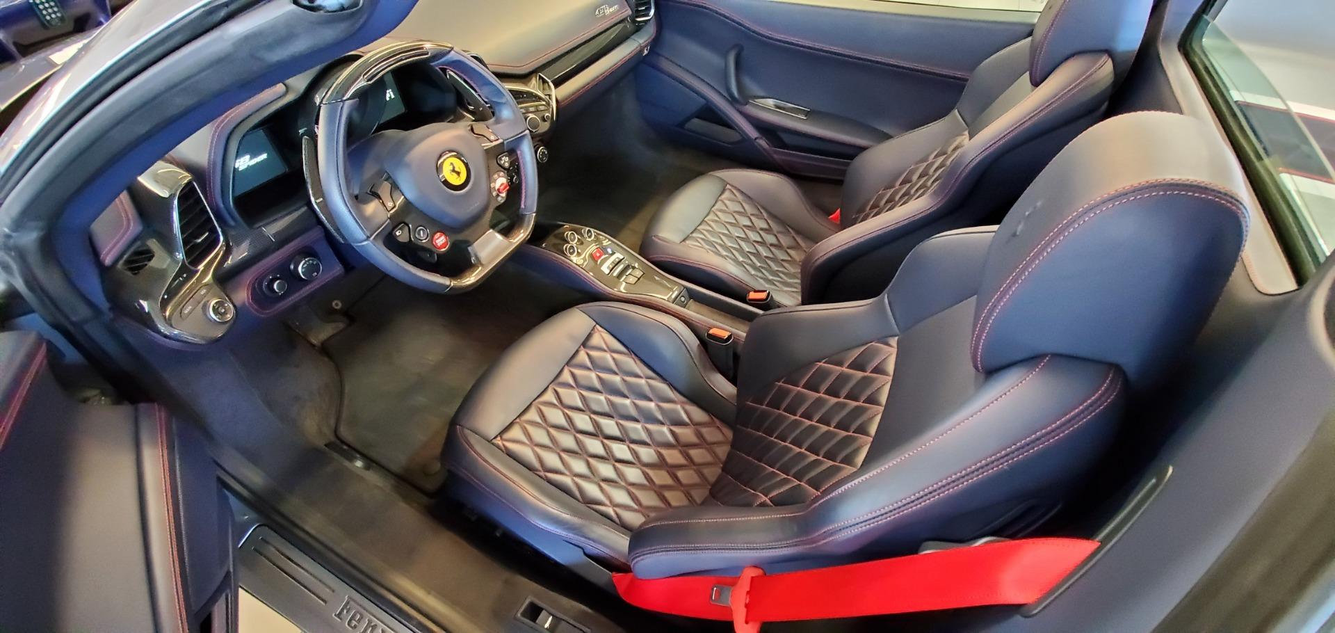 Used 2015 Ferrari 458 Spider  For Sale In Greenwich, CT. Alfa Romeo of Greenwich, 4574 1667_p19