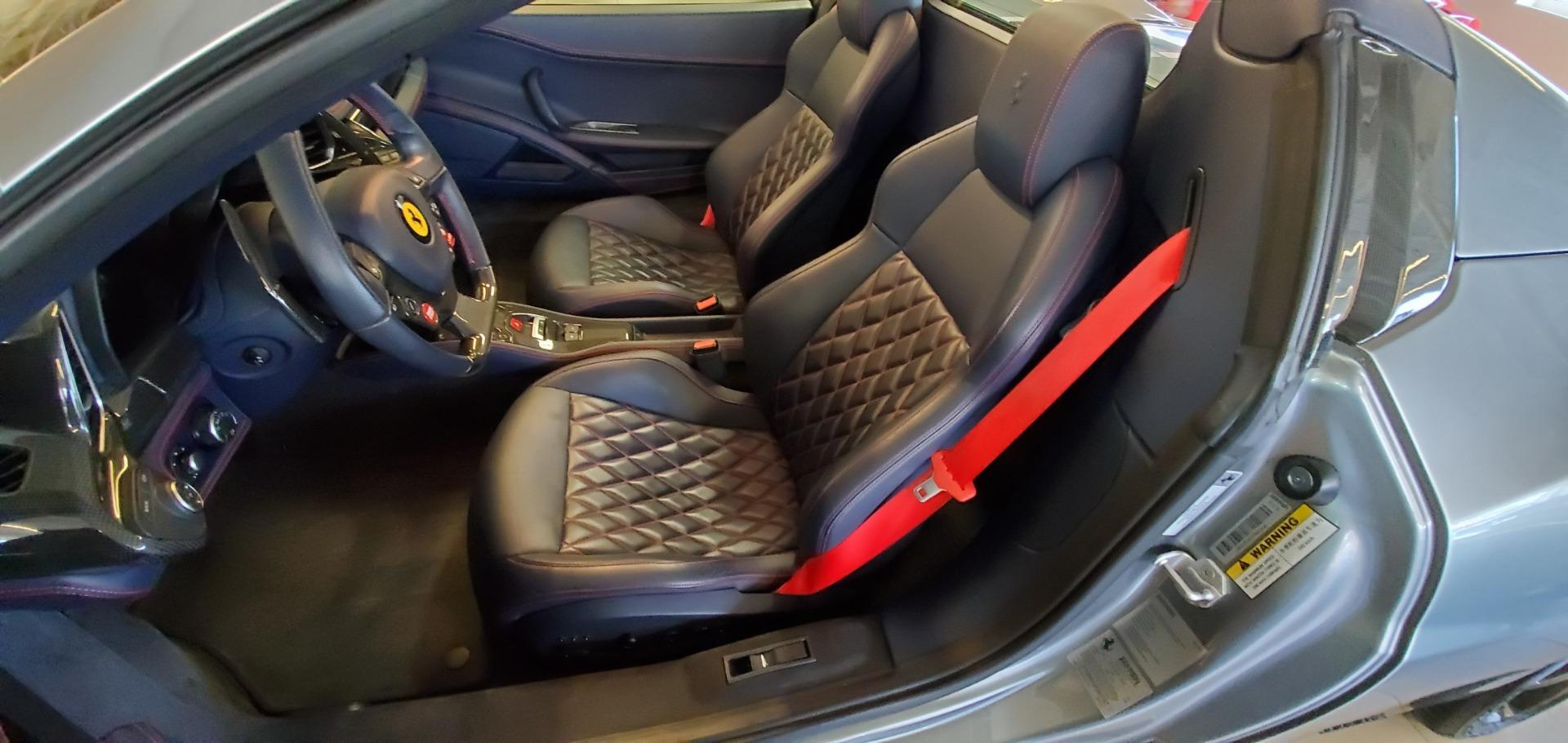 Used 2015 Ferrari 458 Spider  For Sale In Greenwich, CT. Alfa Romeo of Greenwich, 4574 1667_p21