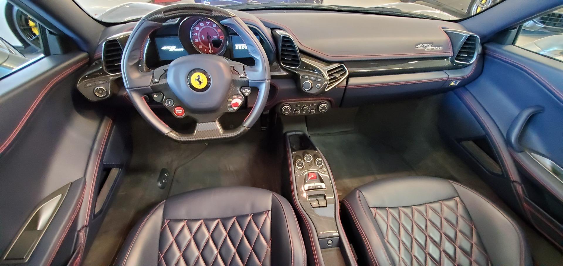 Used 2015 Ferrari 458 Spider  For Sale In Greenwich, CT. Alfa Romeo of Greenwich, 4574 1667_p22