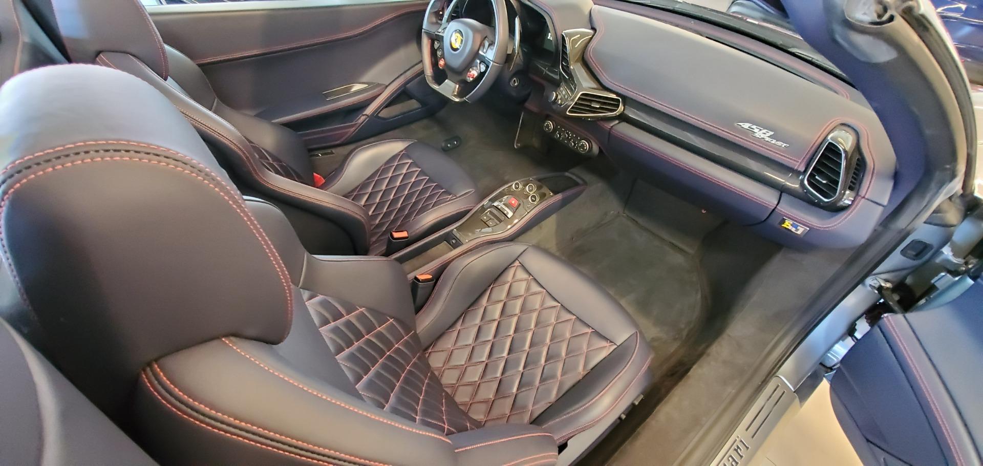 Used 2015 Ferrari 458 Spider  For Sale In Greenwich, CT. Alfa Romeo of Greenwich, 4574 1667_p23