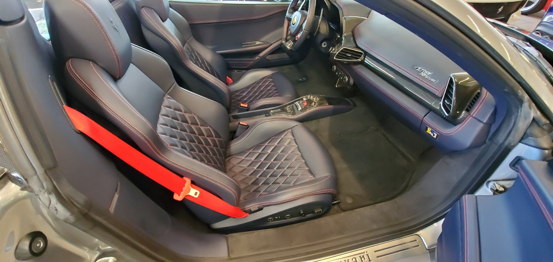 Used 2015 Ferrari 458 Spider  For Sale In Greenwich, CT. Alfa Romeo of Greenwich, 4574 1667_p24