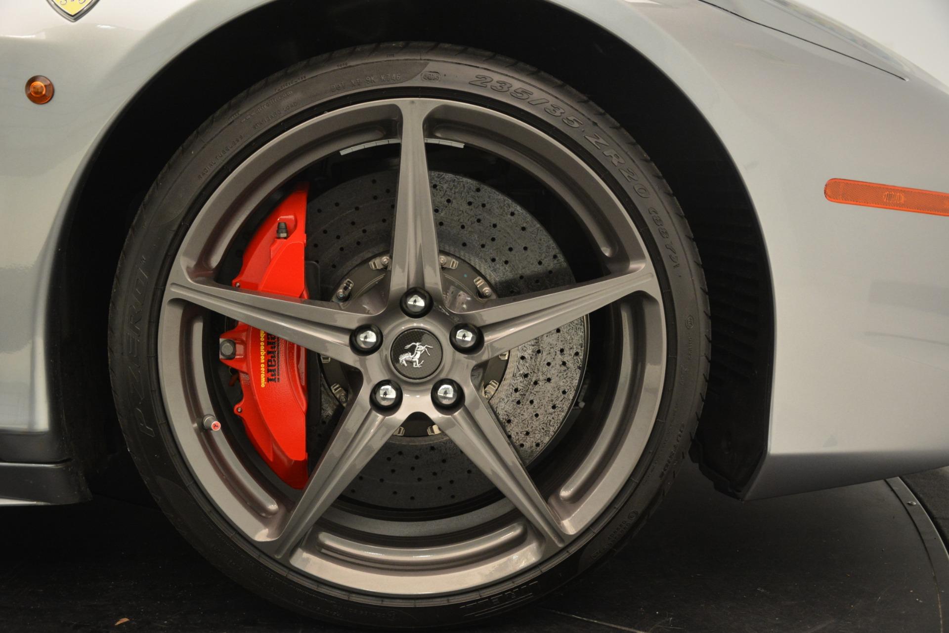 Used 2015 Ferrari 458 Spider  For Sale In Greenwich, CT. Alfa Romeo of Greenwich, 4574 1667_p29