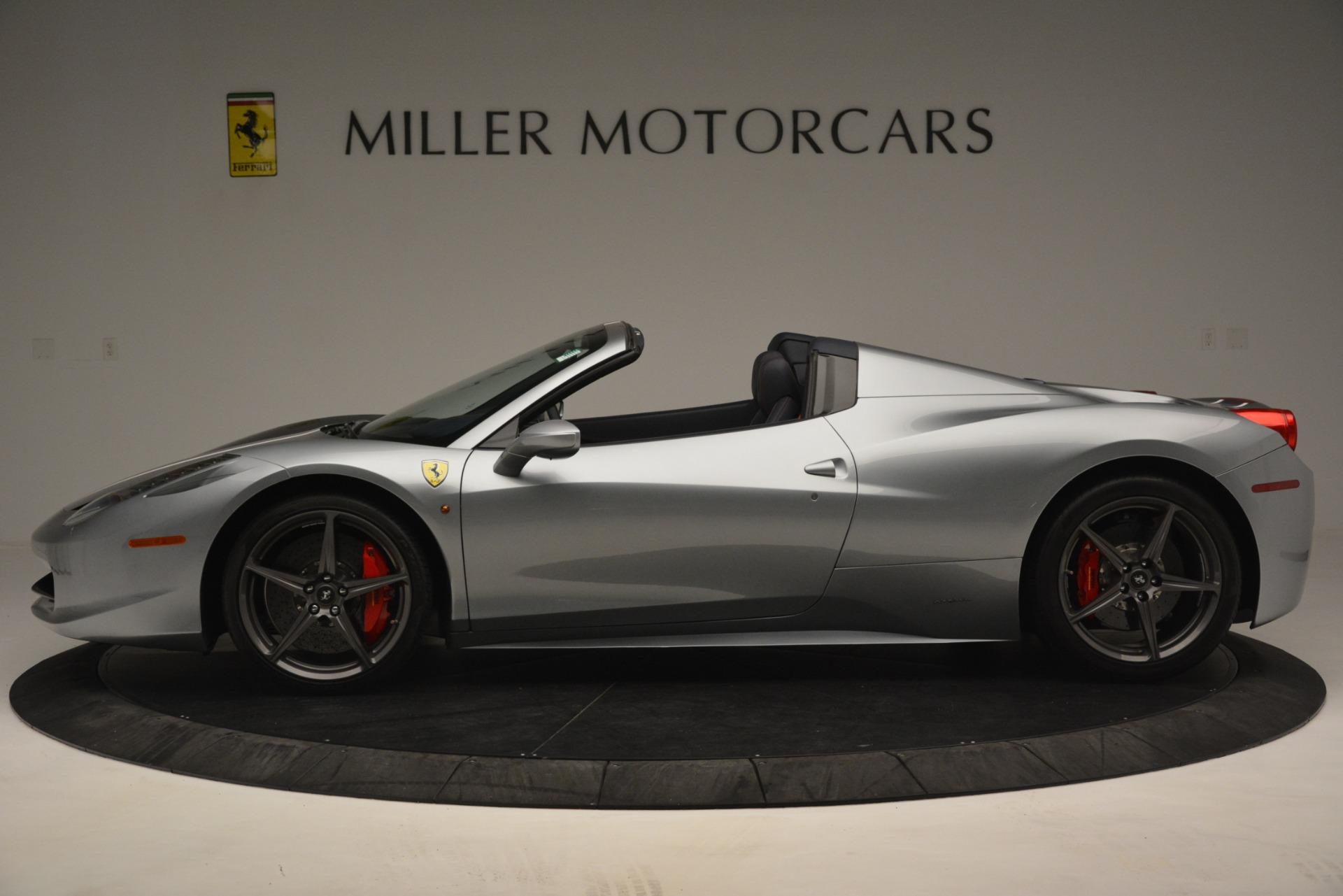 Used 2015 Ferrari 458 Spider  For Sale In Greenwich, CT. Alfa Romeo of Greenwich, 4574 1667_p3