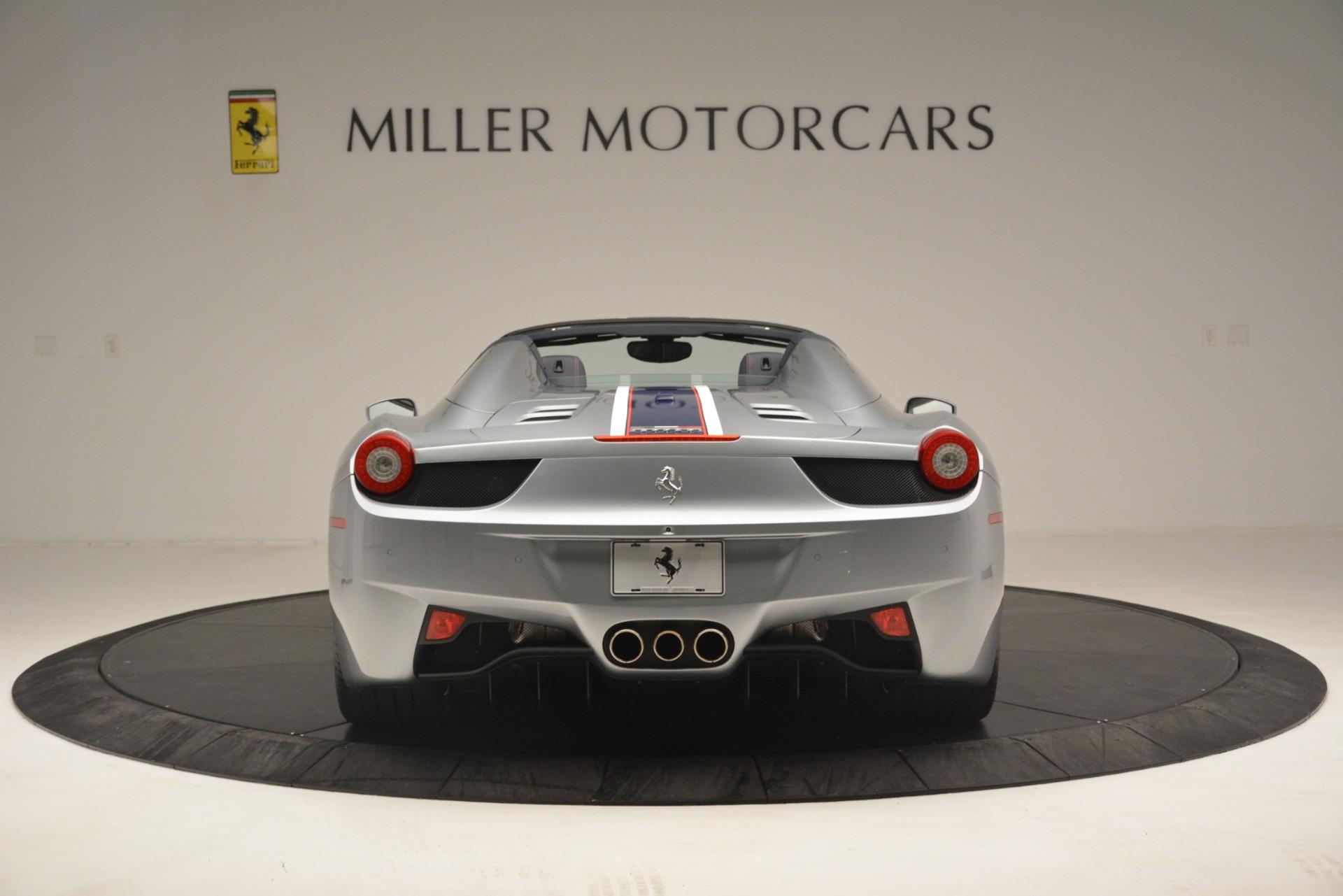 Used 2015 Ferrari 458 Spider  For Sale In Greenwich, CT. Alfa Romeo of Greenwich, 4574 1667_p6