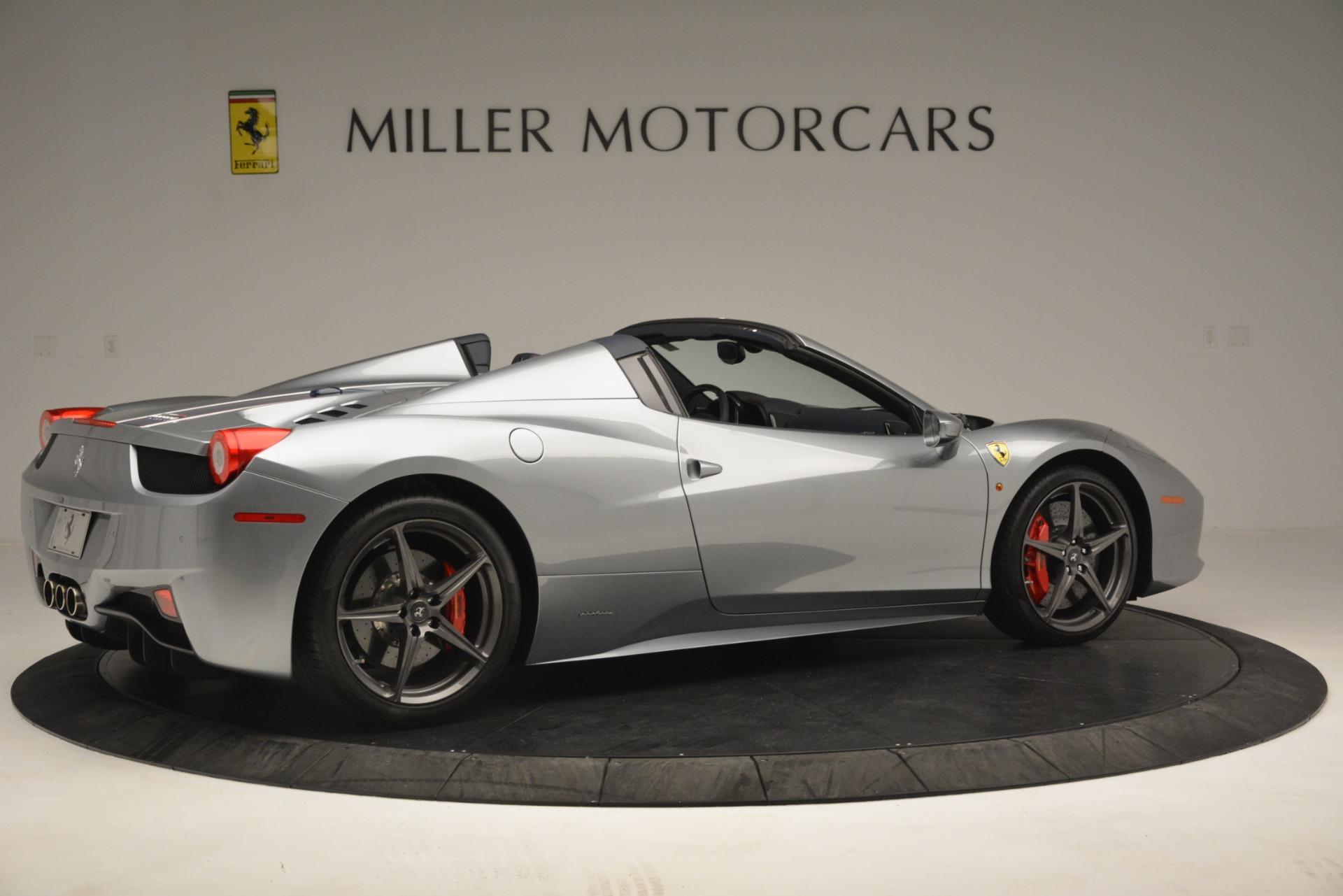 Used 2015 Ferrari 458 Spider  For Sale In Greenwich, CT. Alfa Romeo of Greenwich, 4574 1667_p8