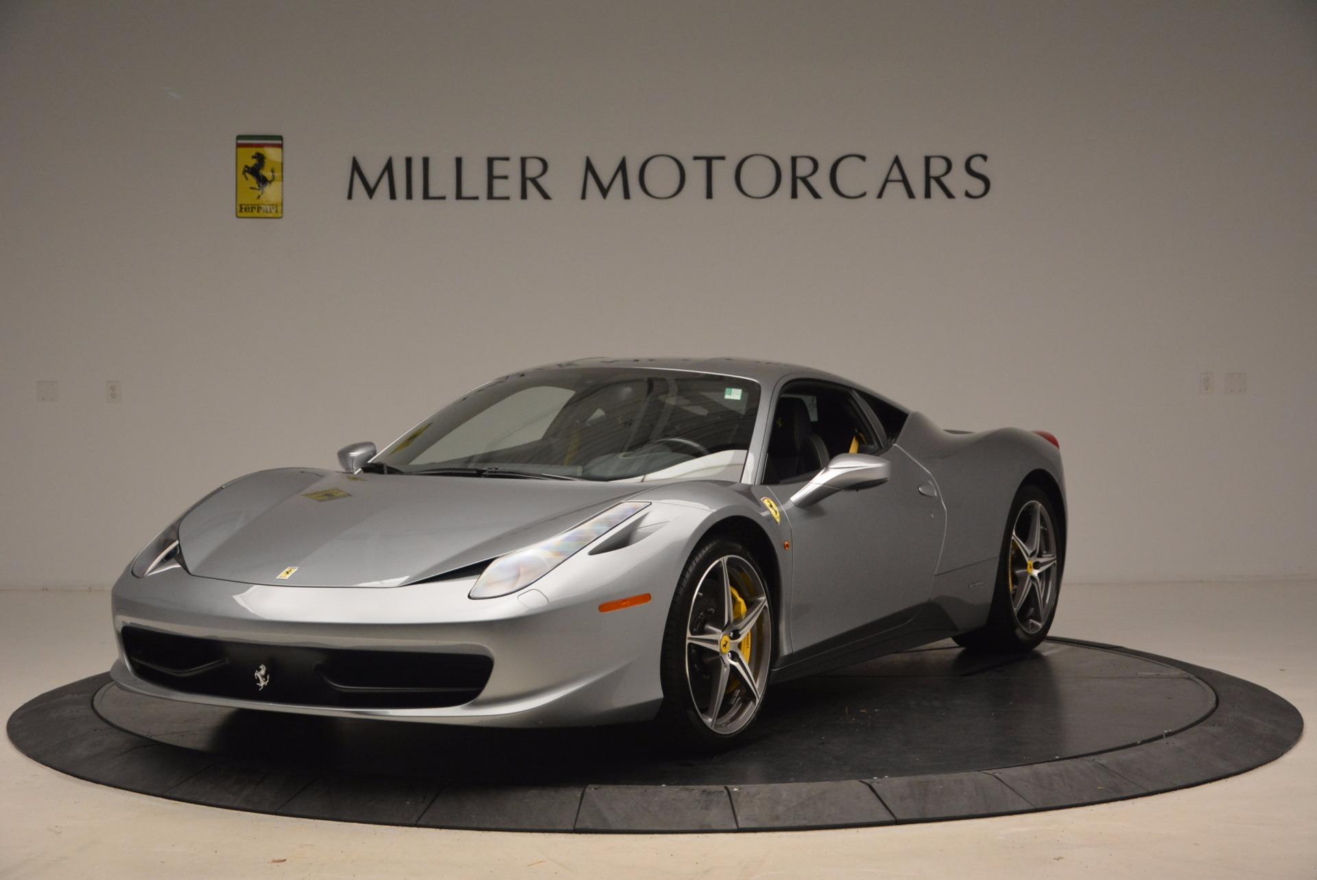 Used 2014 Ferrari 458 Italia  For Sale In Greenwich, CT. Alfa Romeo of Greenwich, 4422A 1669_main
