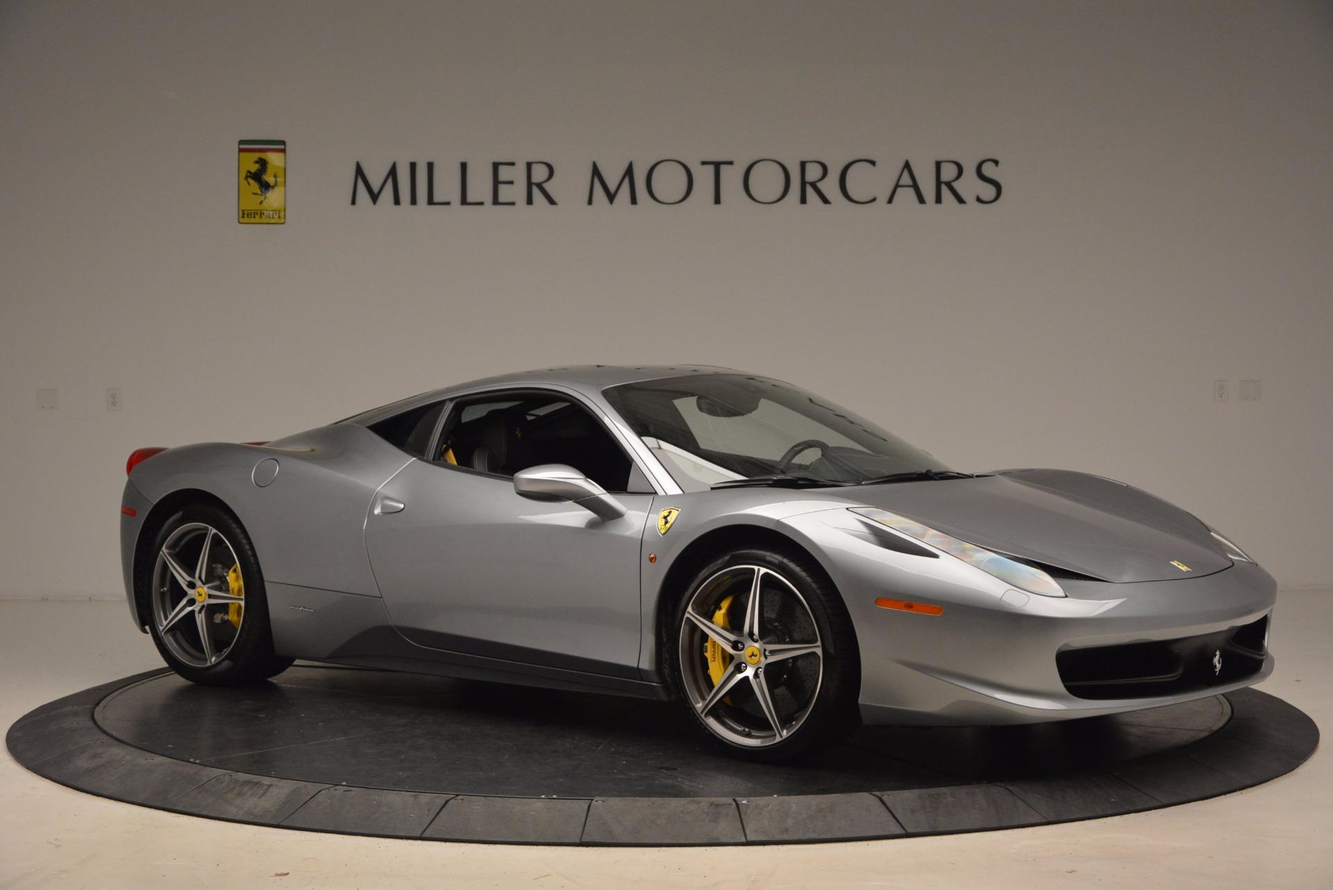 Used 2014 Ferrari 458 Italia  For Sale In Greenwich, CT. Alfa Romeo of Greenwich, 4422A 1669_p10