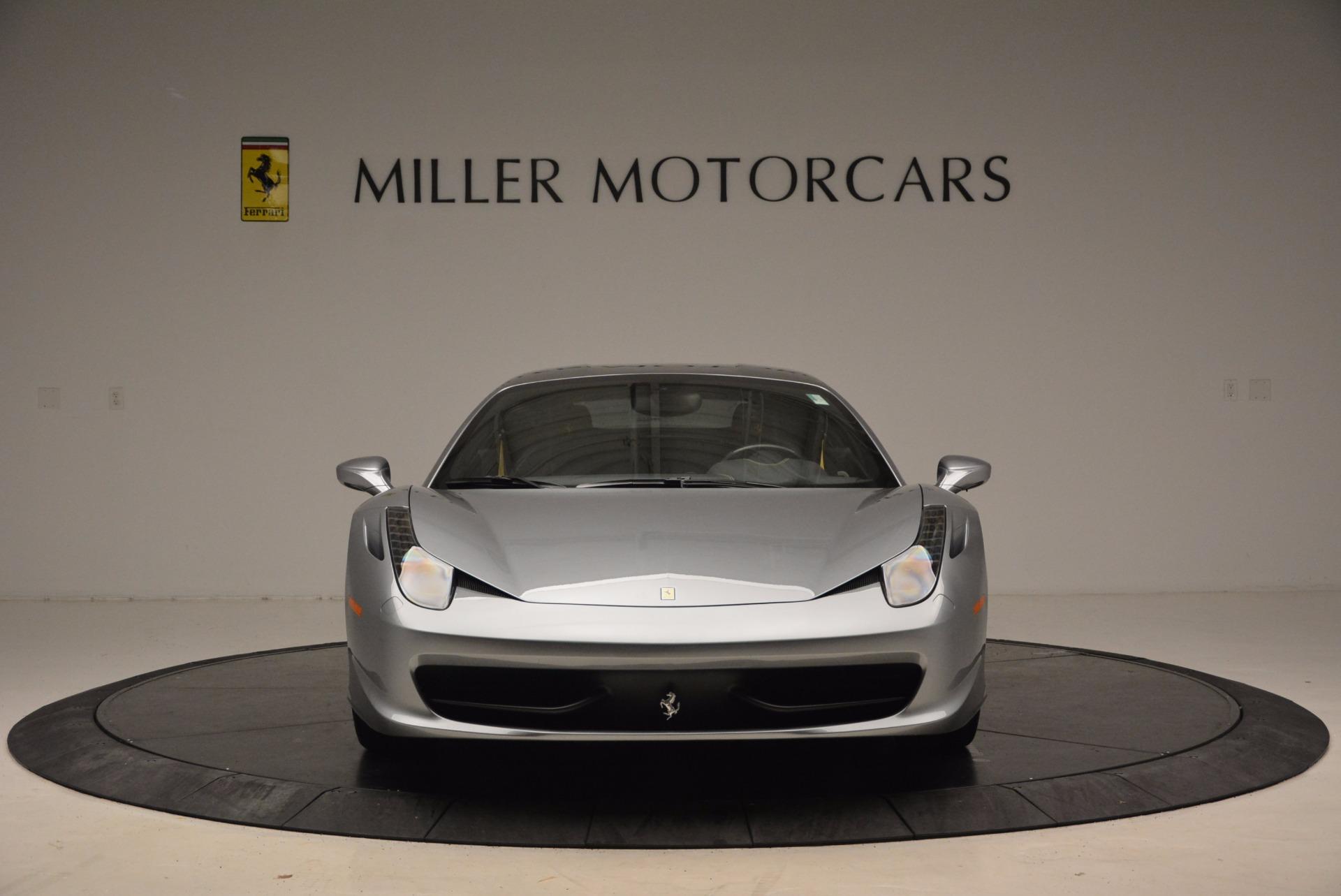 Used 2014 Ferrari 458 Italia  For Sale In Greenwich, CT. Alfa Romeo of Greenwich, 4422A 1669_p12