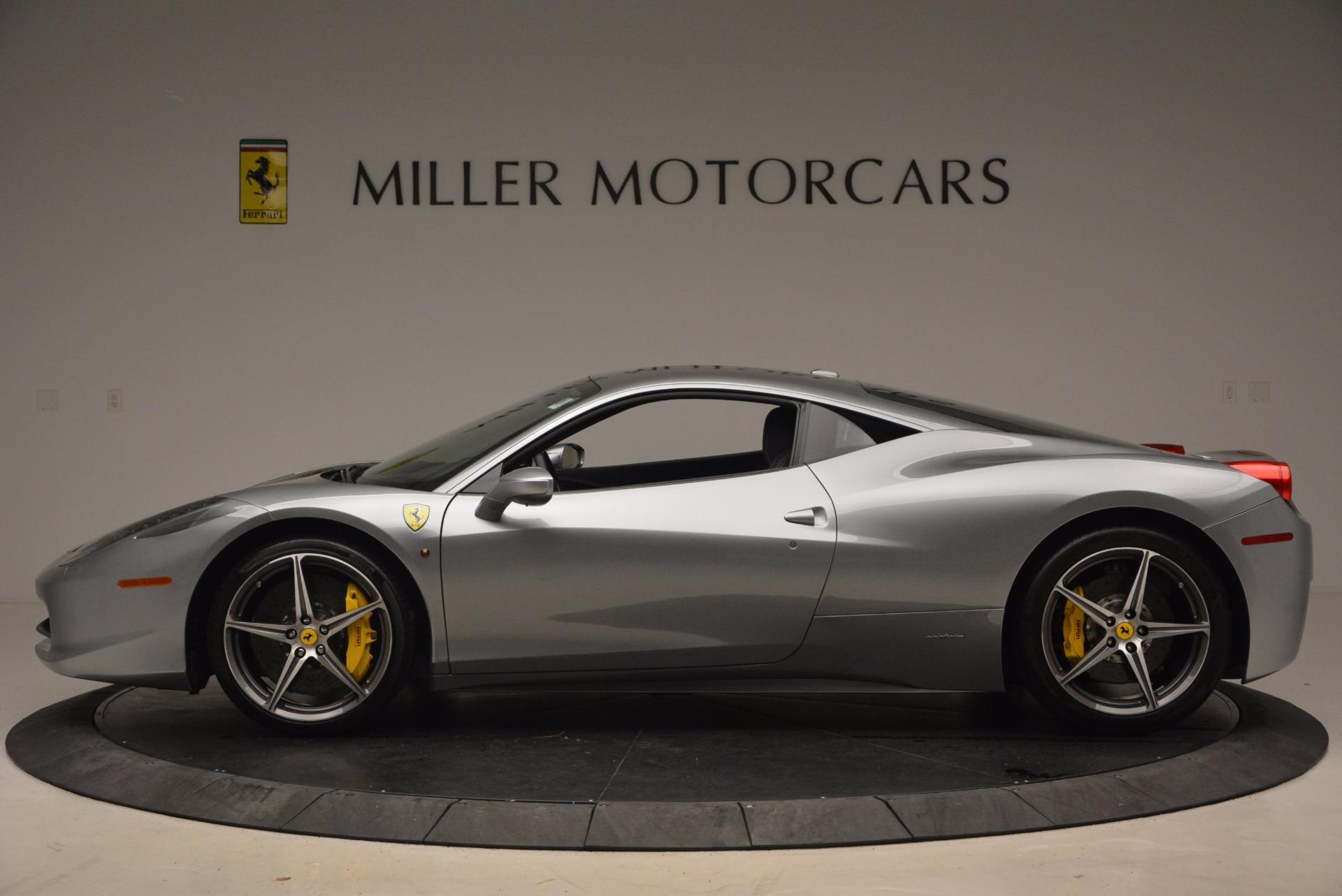 Used 2014 Ferrari 458 Italia  For Sale In Greenwich, CT. Alfa Romeo of Greenwich, 4422A 1669_p3