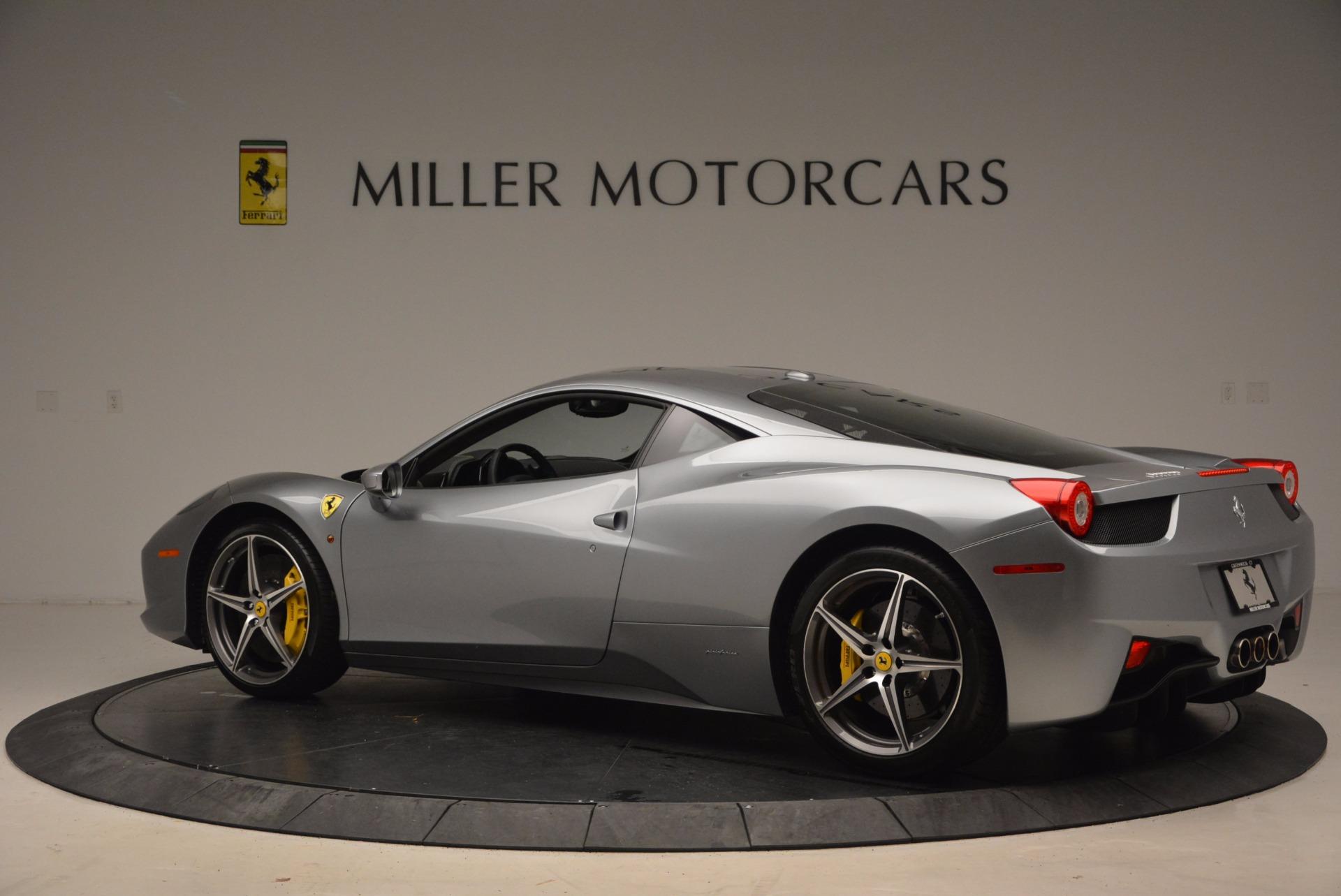 Used 2014 Ferrari 458 Italia  For Sale In Greenwich, CT. Alfa Romeo of Greenwich, 4422A 1669_p4