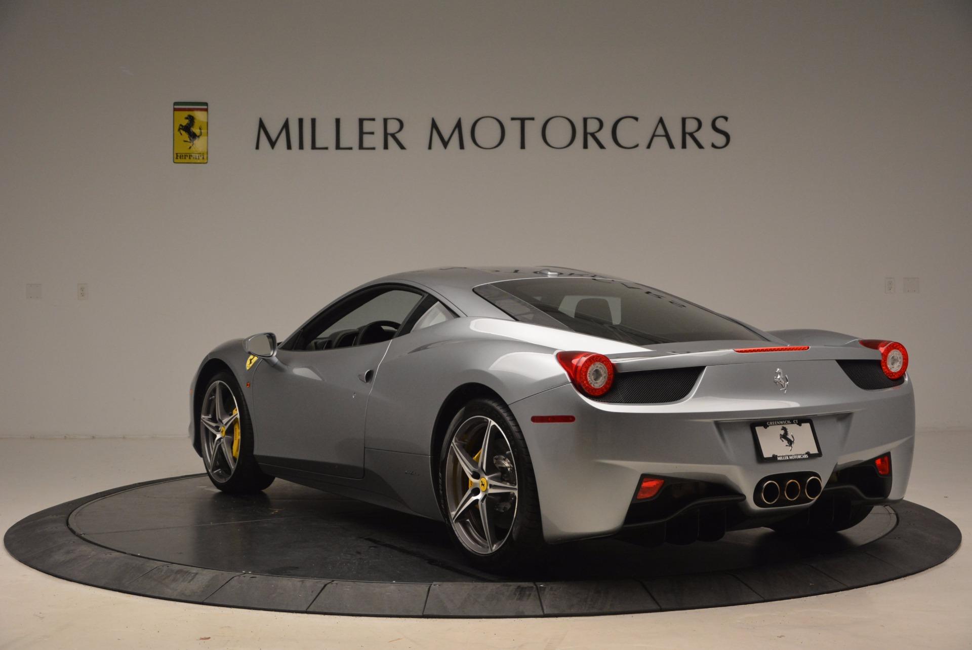 Used 2014 Ferrari 458 Italia  For Sale In Greenwich, CT. Alfa Romeo of Greenwich, 4422A 1669_p5