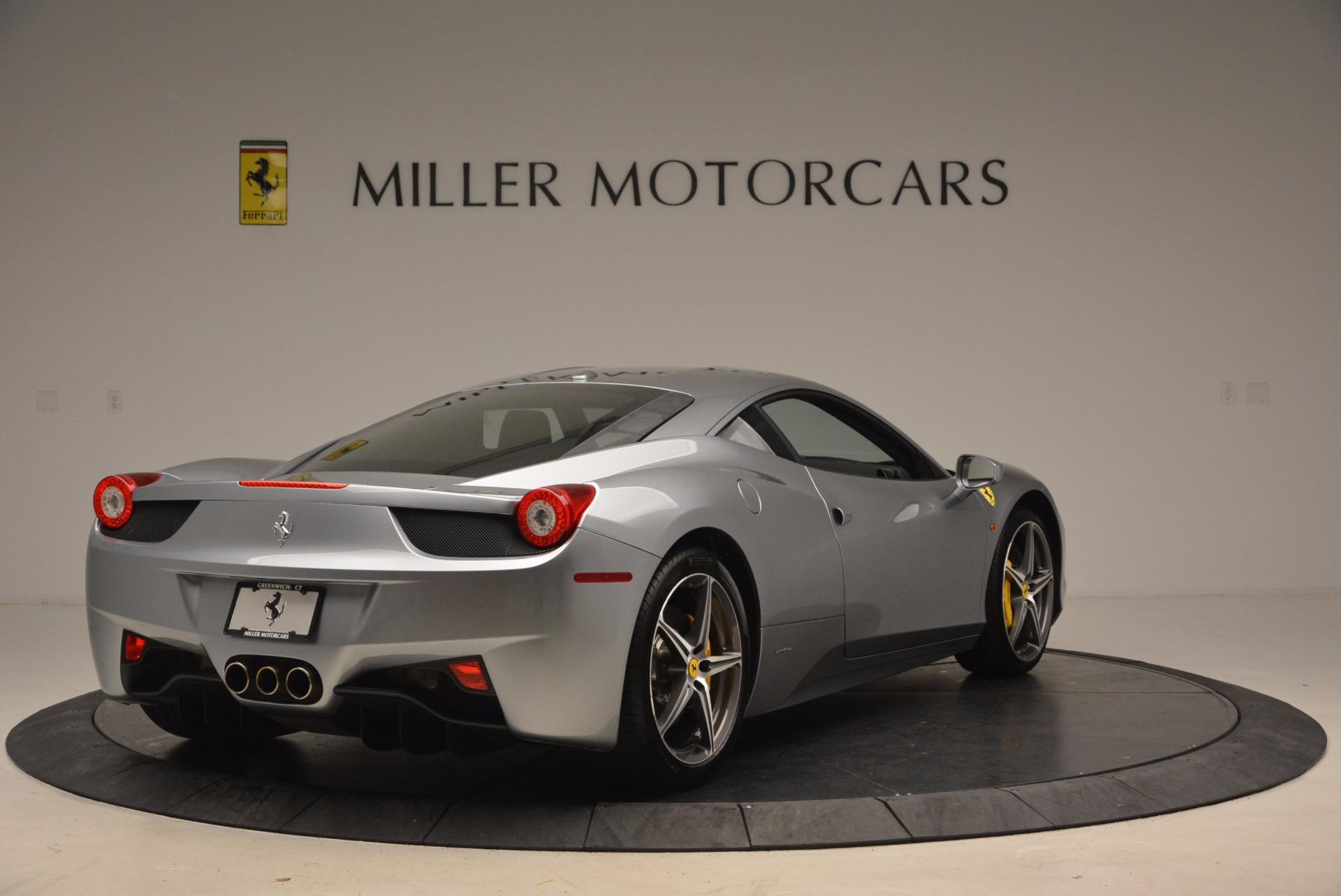 Used 2014 Ferrari 458 Italia  For Sale In Greenwich, CT. Alfa Romeo of Greenwich, 4422A 1669_p7