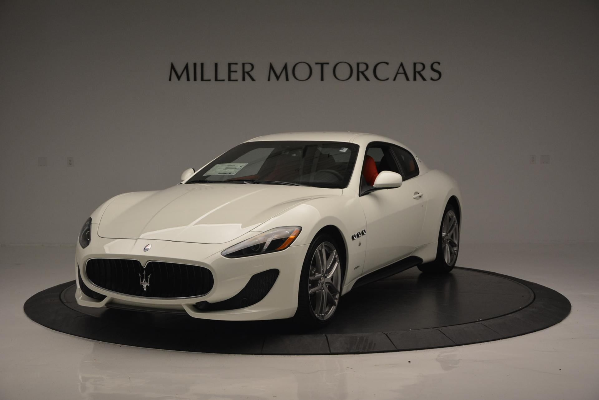 New 2017 Maserati GranTurismo Sport For Sale In Greenwich, CT. Alfa Romeo of Greenwich, M1635