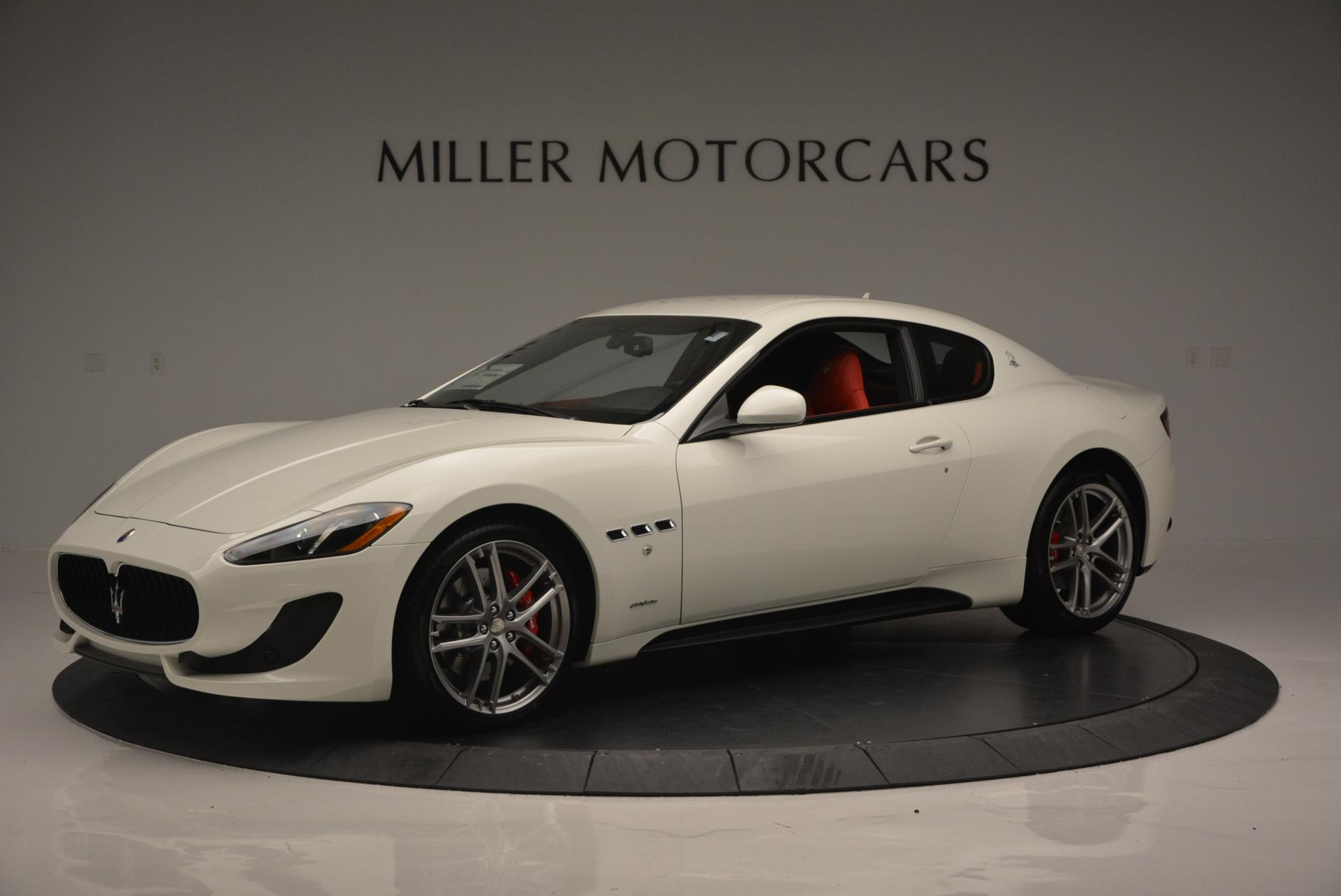 New 2017 Maserati GranTurismo Sport For Sale In Greenwich, CT. Alfa Romeo of Greenwich, M1635 168_p2