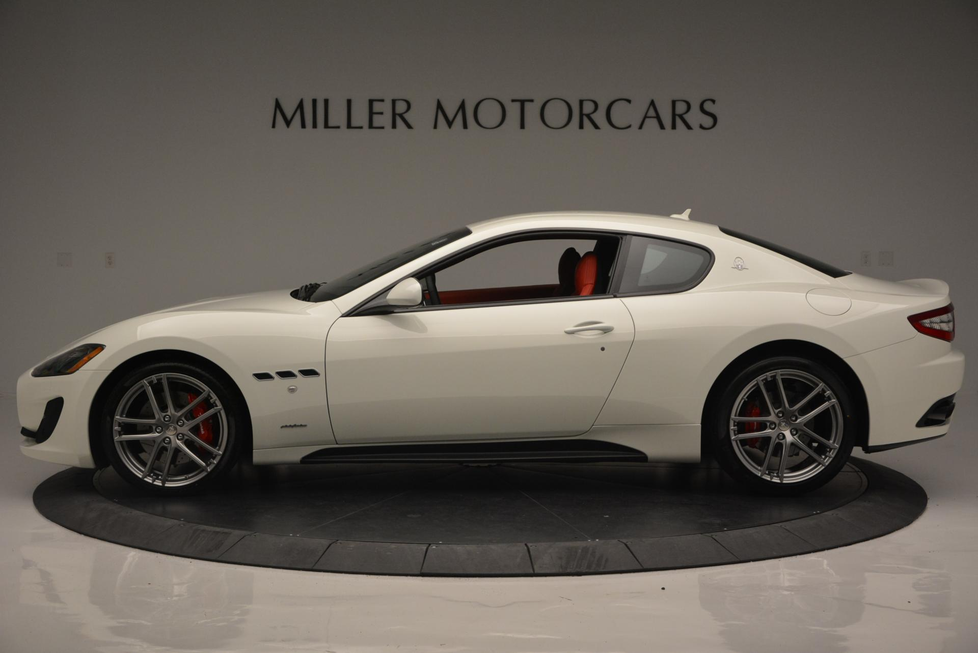 New 2017 Maserati GranTurismo Sport For Sale In Greenwich, CT. Alfa Romeo of Greenwich, M1635 168_p3