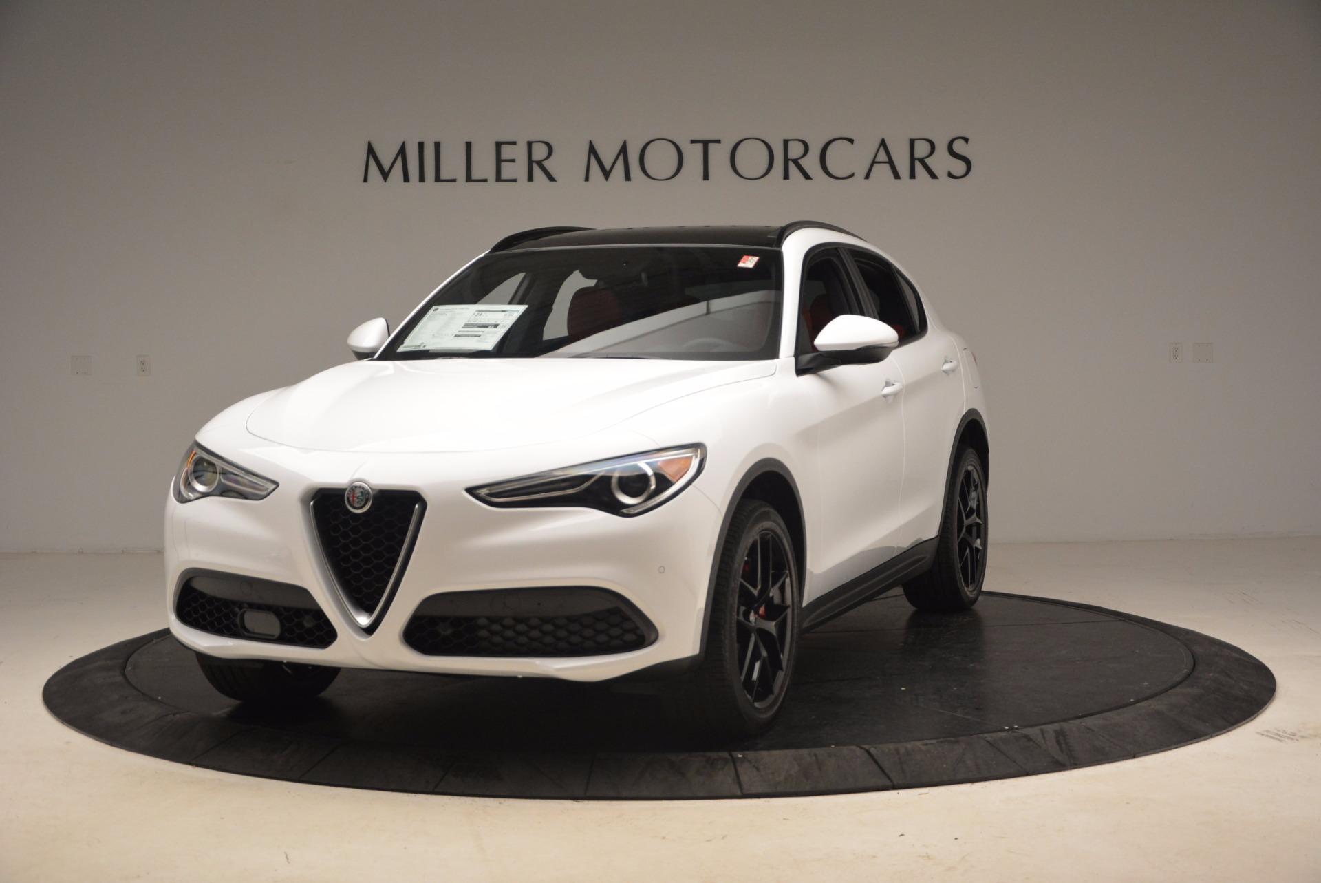 New 2018 Alfa Romeo Stelvio Ti Sport Q4 For Sale In Greenwich, CT. Alfa Romeo of Greenwich, L260 1684_main