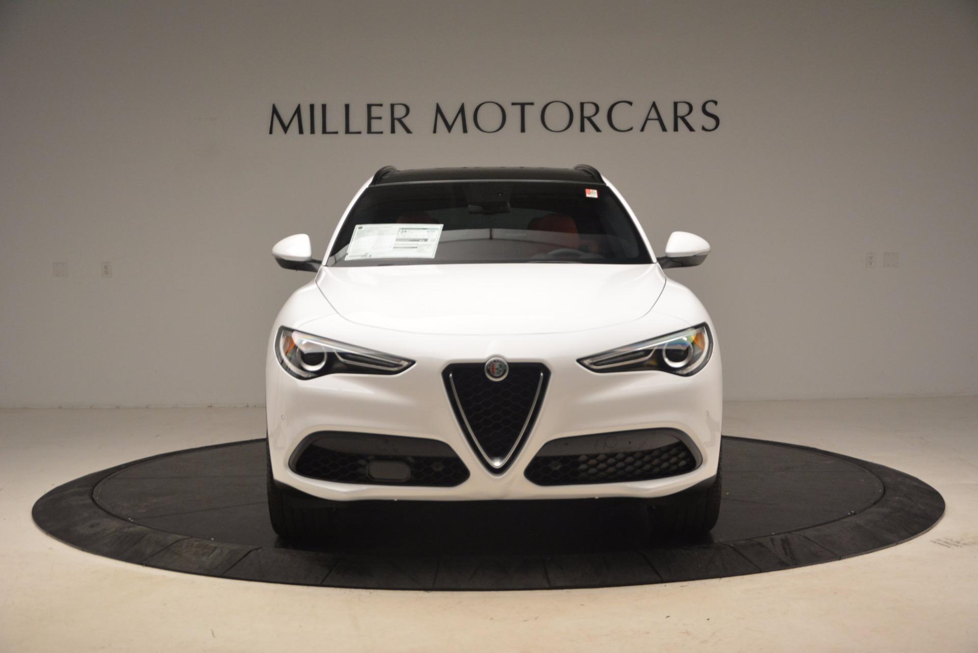 New 2018 Alfa Romeo Stelvio Ti Sport Q4 For Sale In Greenwich, CT. Alfa Romeo of Greenwich, L260 1684_p12