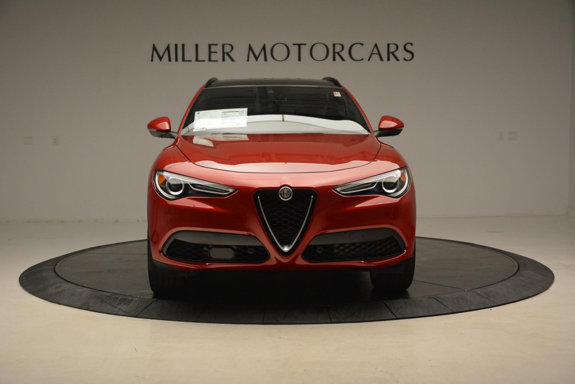 New 2018 Alfa Romeo Stelvio Ti Sport Q4 For Sale In Greenwich, CT. Alfa Romeo of Greenwich, LW065 1689_p12