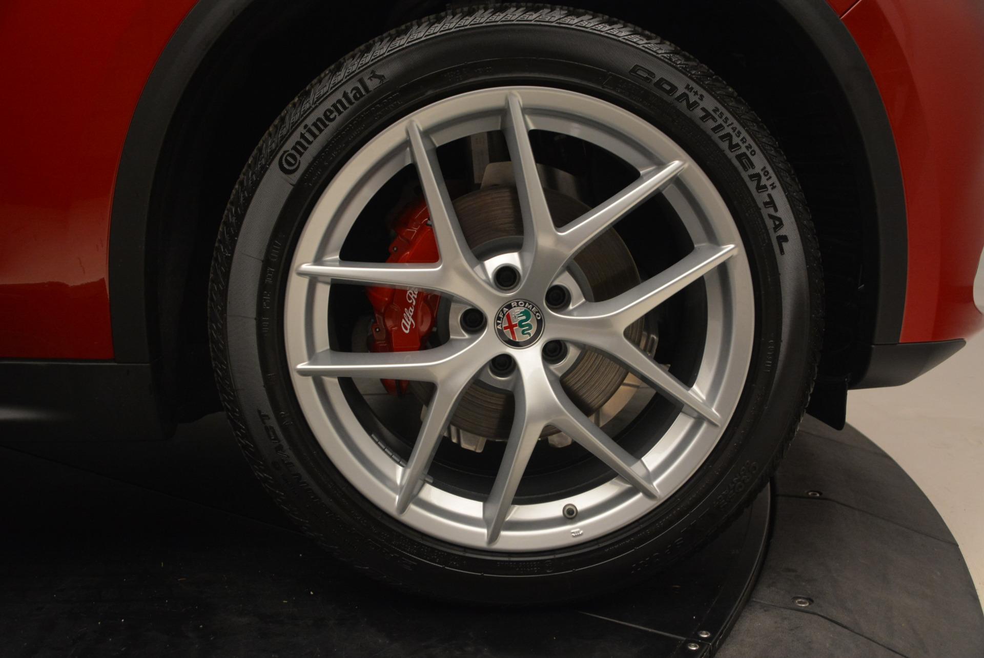 New 2018 Alfa Romeo Stelvio Ti Sport Q4 For Sale In Greenwich, CT. Alfa Romeo of Greenwich, LW065 1689_p25
