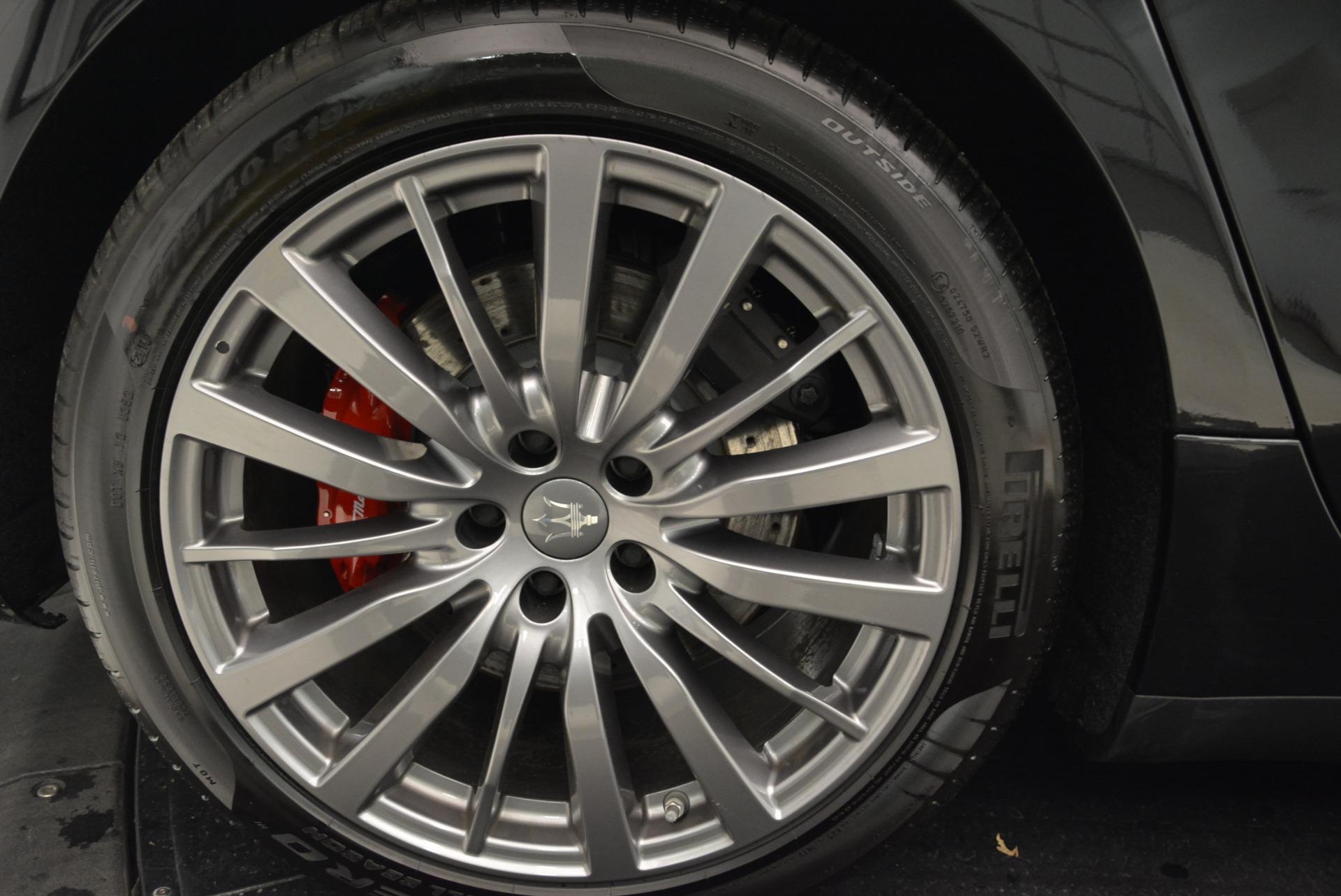 New 2018 Maserati Ghibli S Q4 For Sale In Greenwich, CT. Alfa Romeo of Greenwich, M1962 1697_p21