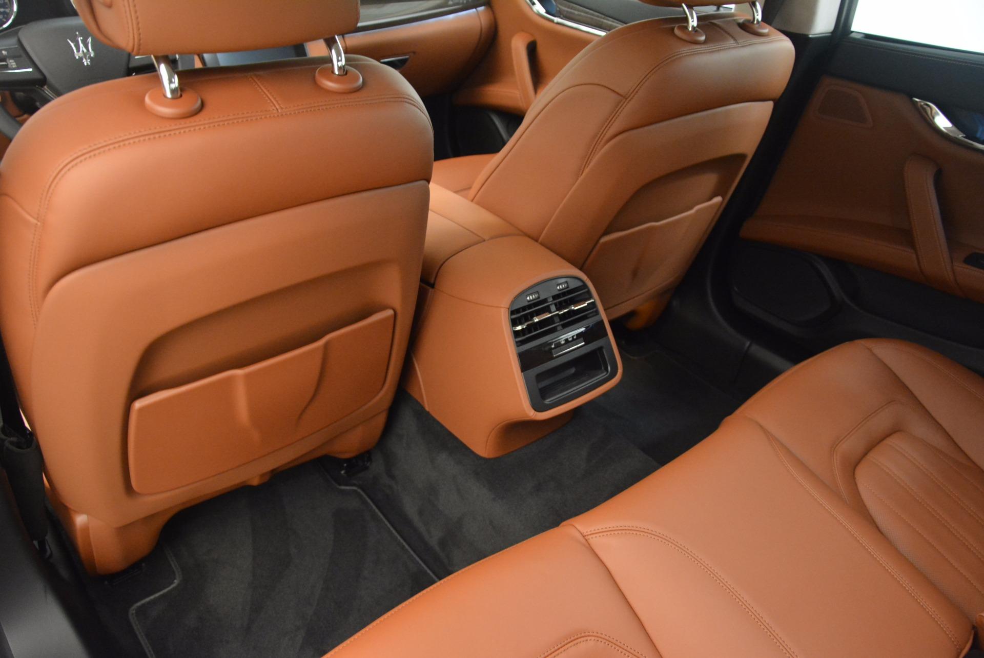 New 2018 Maserati Quattroporte S Q4 GranLusso For Sale In Greenwich, CT. Alfa Romeo of Greenwich, M1954 1700_p19