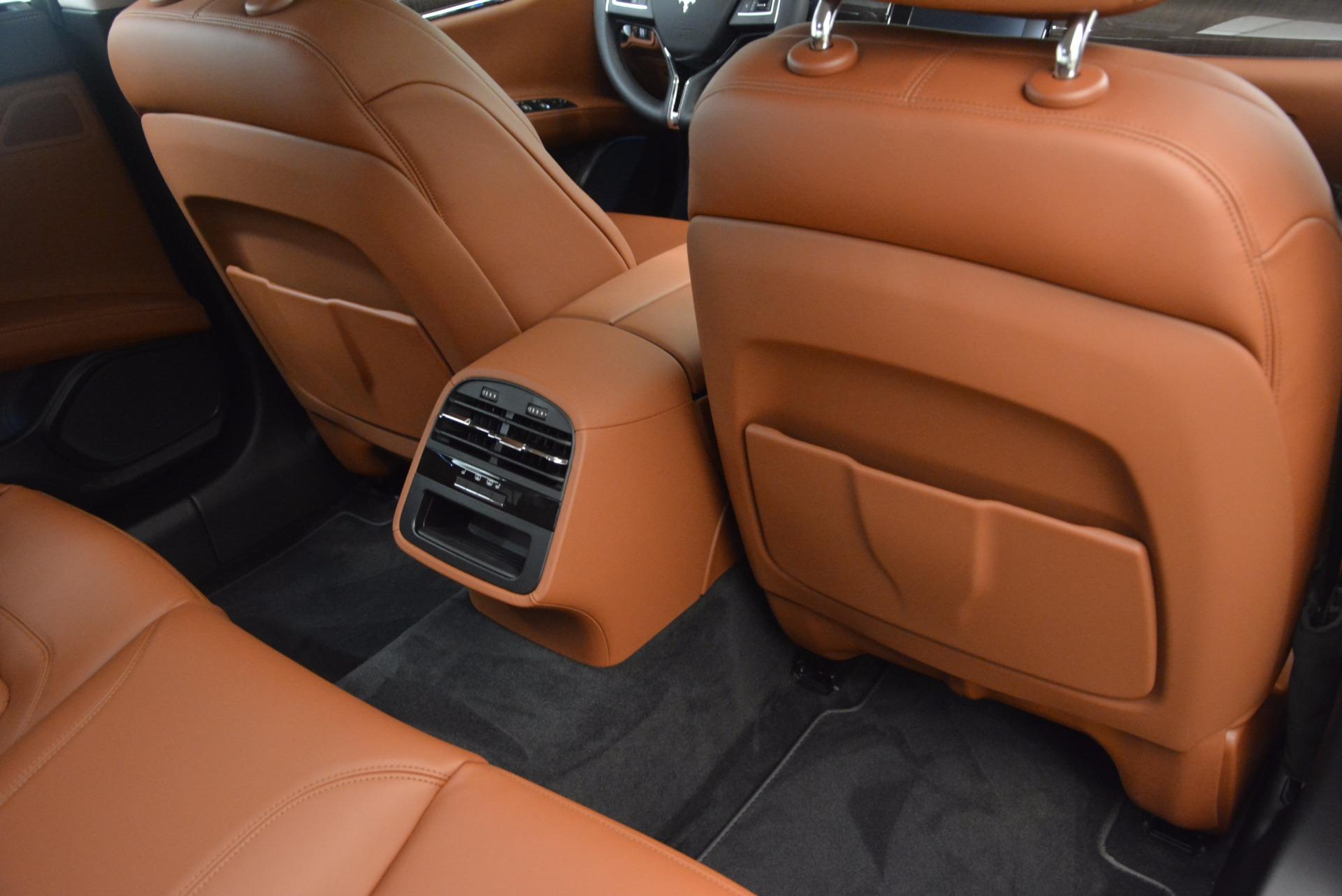 New 2018 Maserati Quattroporte S Q4 GranLusso For Sale In Greenwich, CT. Alfa Romeo of Greenwich, M1954 1700_p22