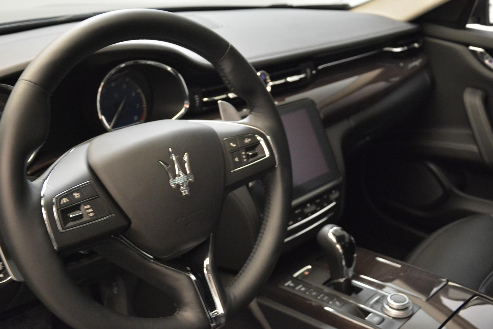 New 2018 Maserati Quattroporte S Q4 GranLusso For Sale In Greenwich, CT. Alfa Romeo of Greenwich, M1958 1705_p16