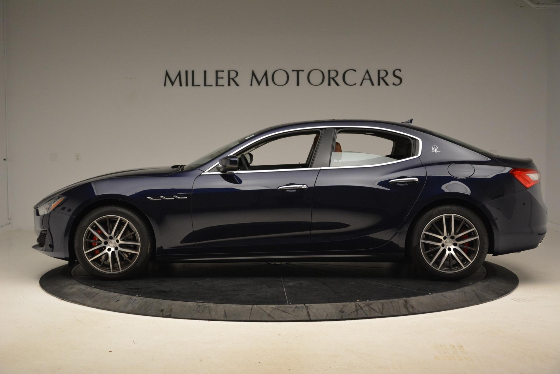 New 2018 Maserati Ghibli S Q4 For Sale In Greenwich, CT. Alfa Romeo of Greenwich, W516 1706_p3