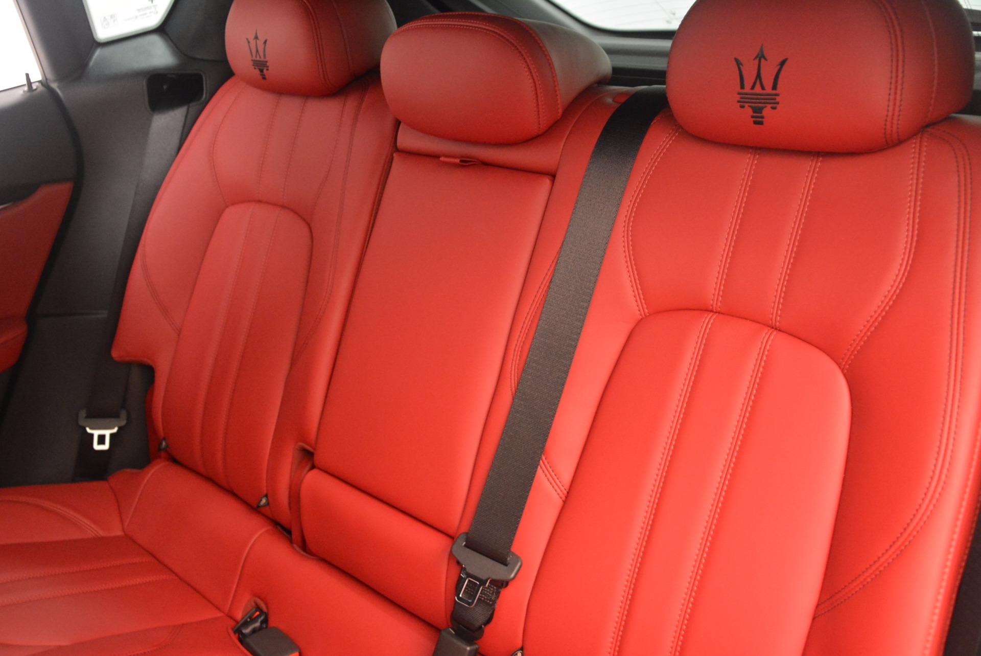 New 2018 Maserati Levante Q4 GranLusso For Sale In Greenwich, CT. Alfa Romeo of Greenwich, M1951 1708_p18