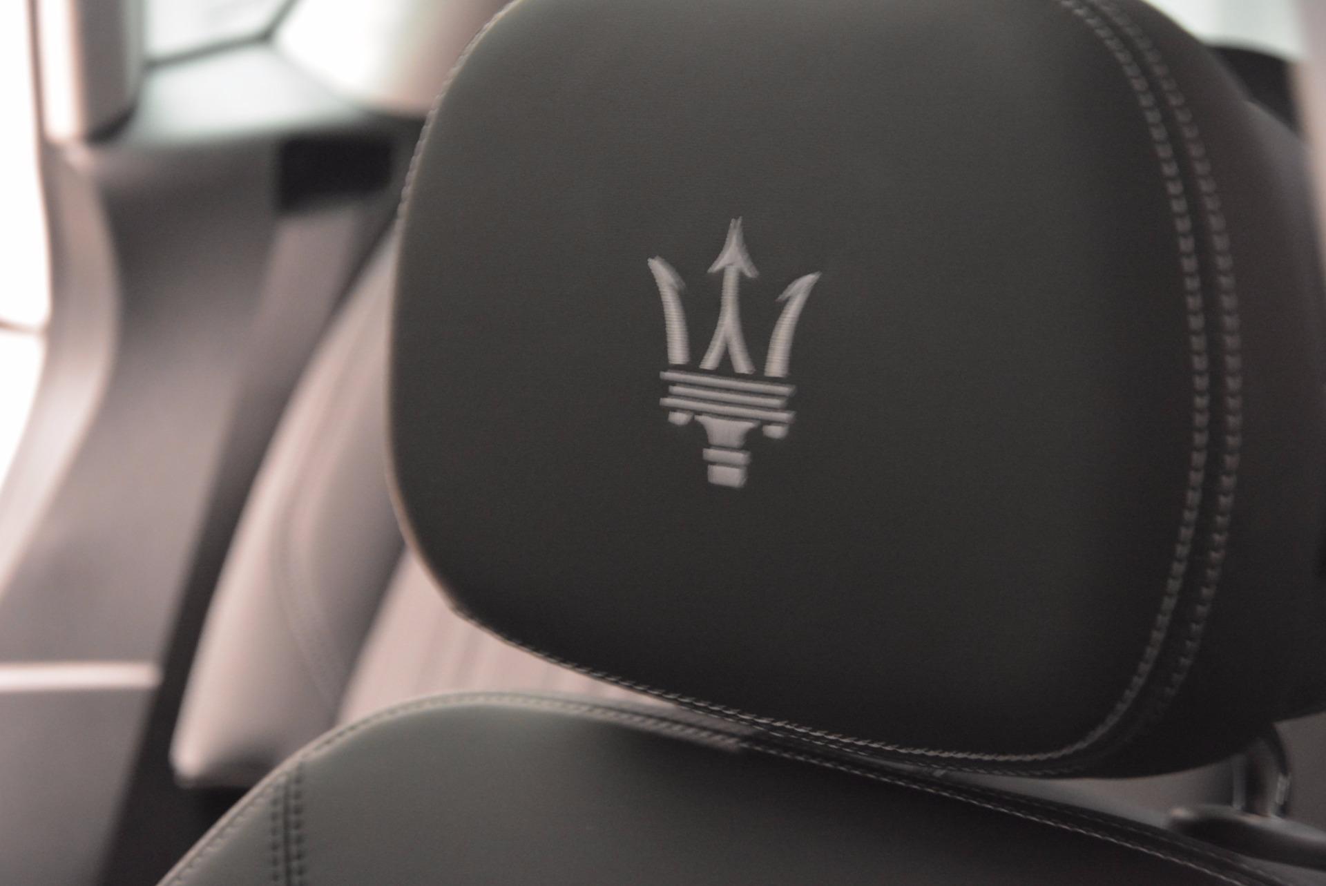New 2018 Maserati Levante Q4 GranLusso For Sale In Greenwich, CT. Alfa Romeo of Greenwich, M1953 1709_p27