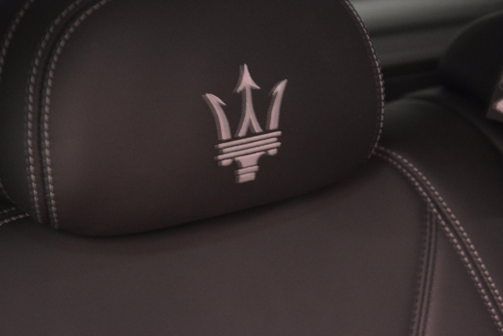 New 2018 Maserati Levante Q4 GranLusso For Sale In Greenwich, CT. Alfa Romeo of Greenwich, M1953 1709_p29