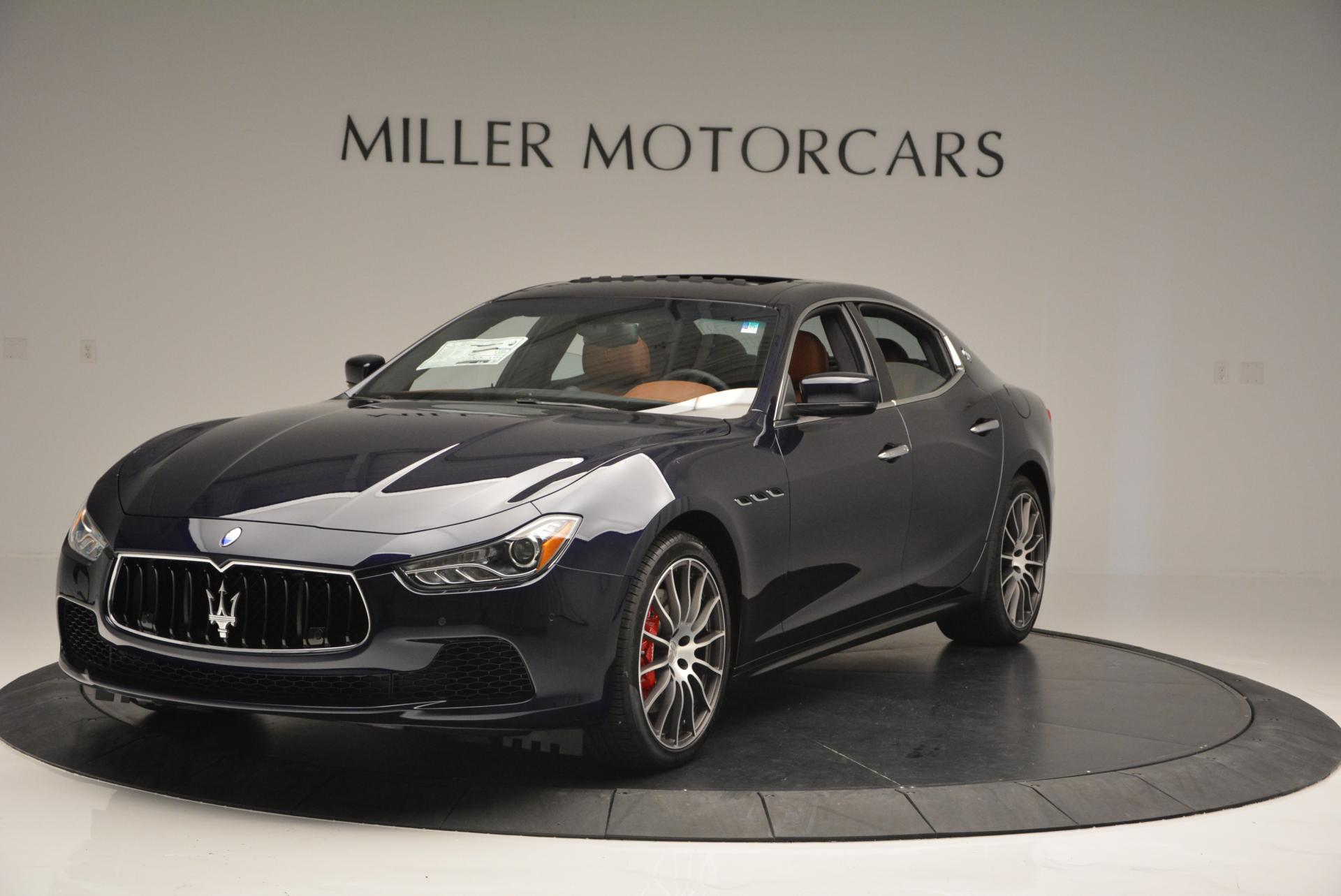 New 2016 Maserati Ghibli S Q4 For Sale In Greenwich, CT. Alfa Romeo of Greenwich, M1578 171_main